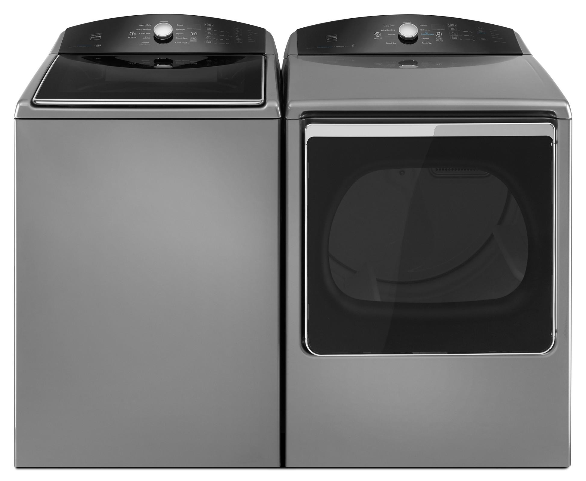 Kenmore 69133 8.8 cu. ft. Electric Dryer w/ Steam Refresh - Metallic
