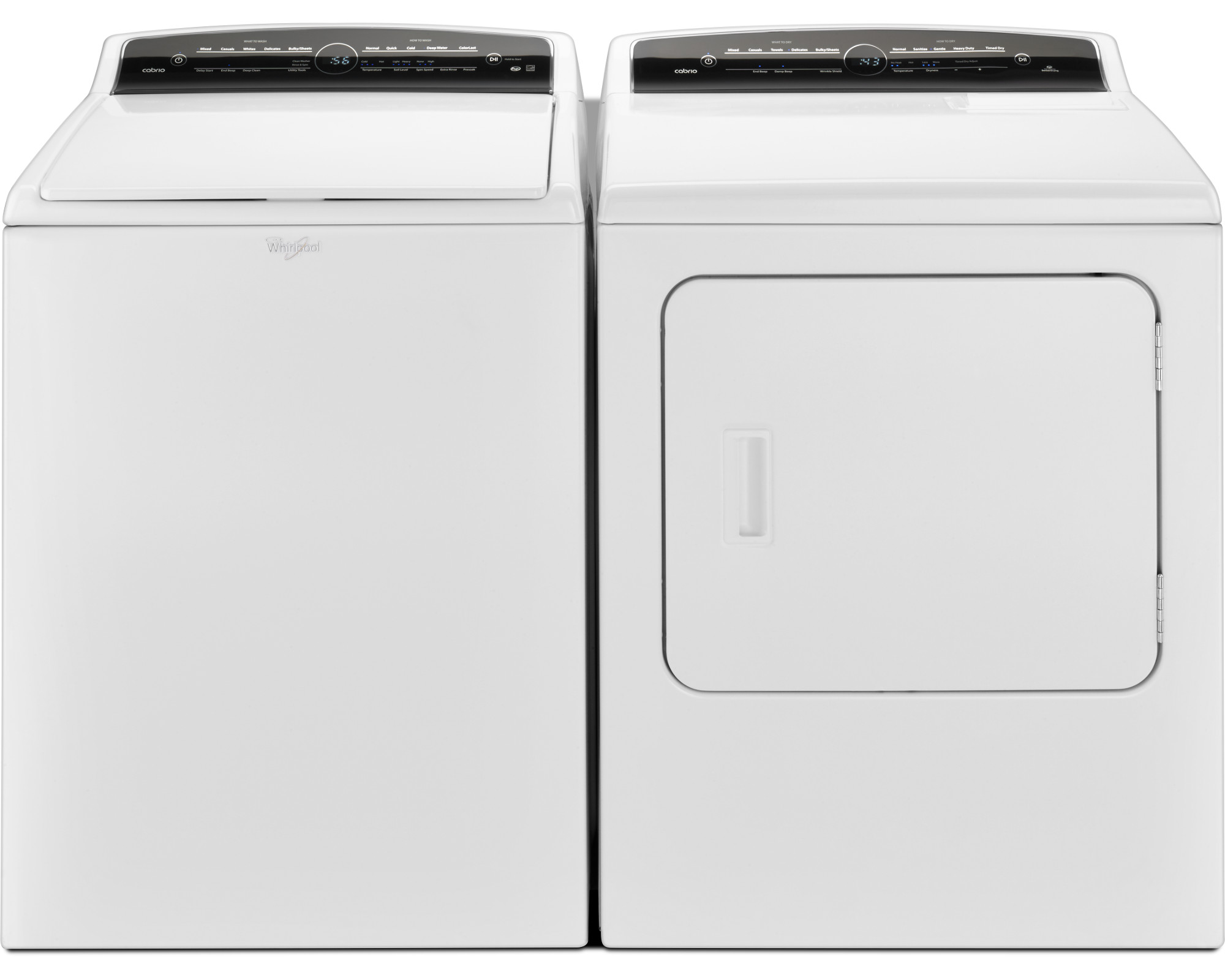 Whirlpool WTW7000DW 4.8 cu. ft. Cabrio® Top Load Washer-White
