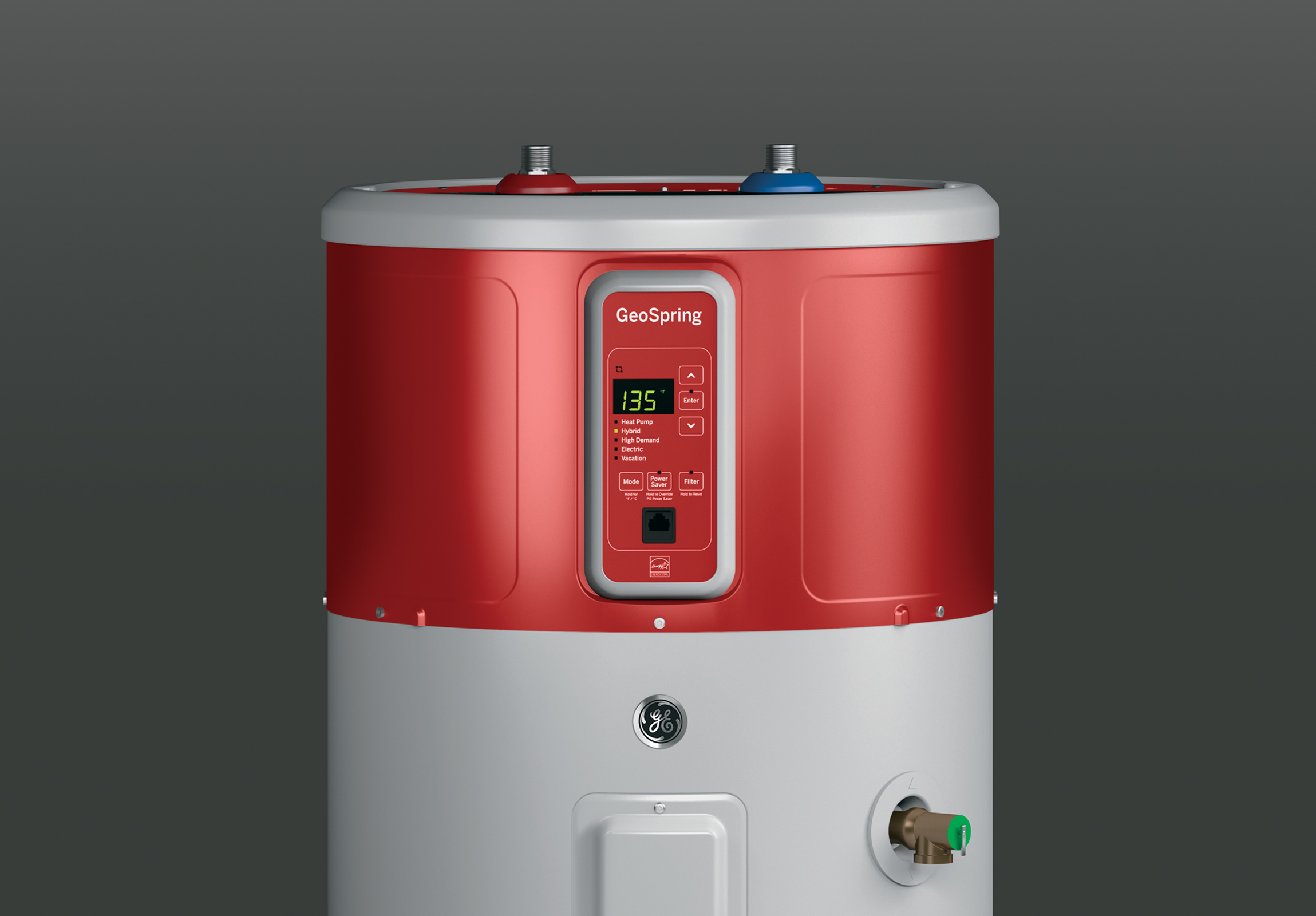 GE Appliances GEH50DFEJSR GeoSpring™ Hybrid Electric Water Heater