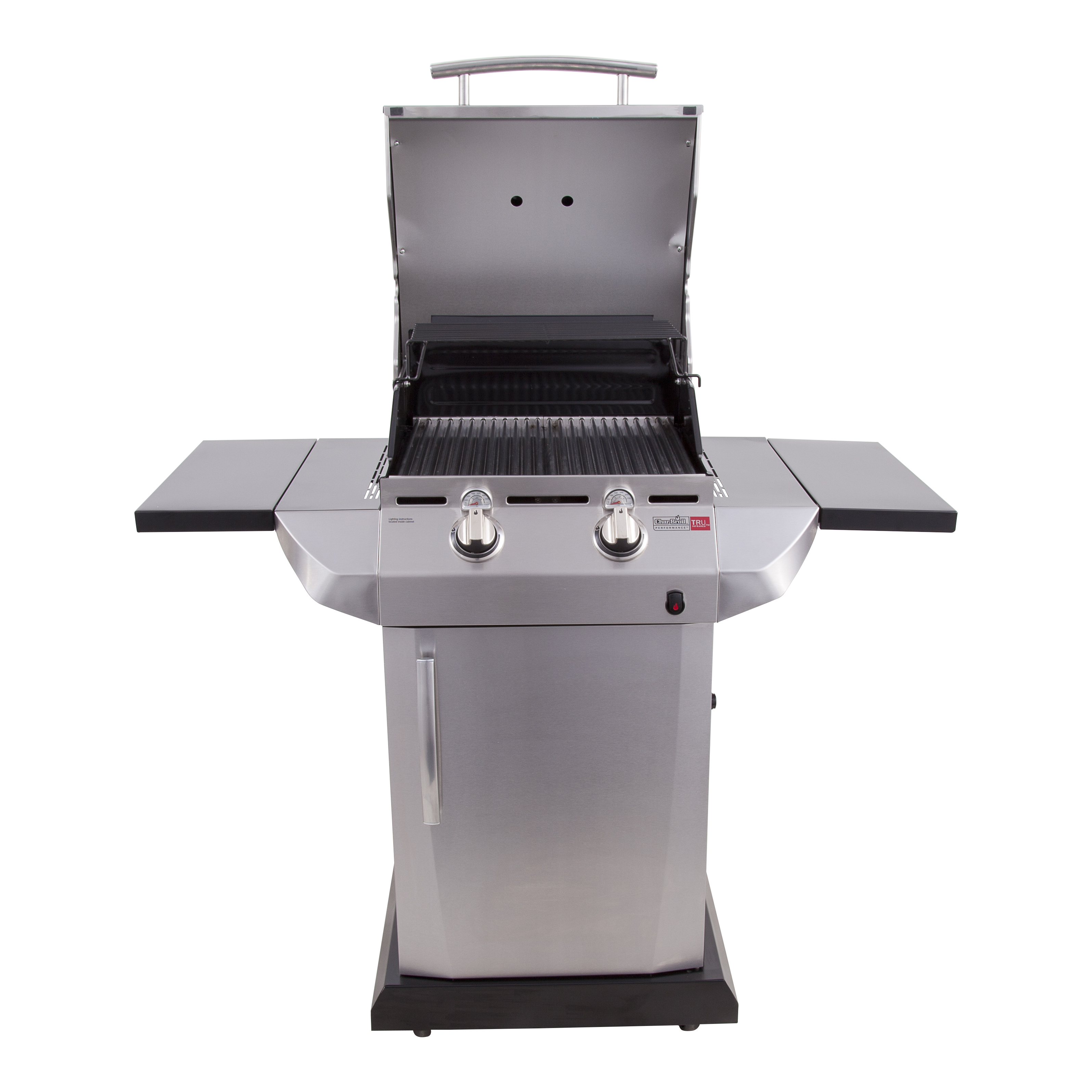 Char-Broil TRU-Infrared Performance 2-Burner Gas Grill with Storage Cabinet - Dual Fuel Capable