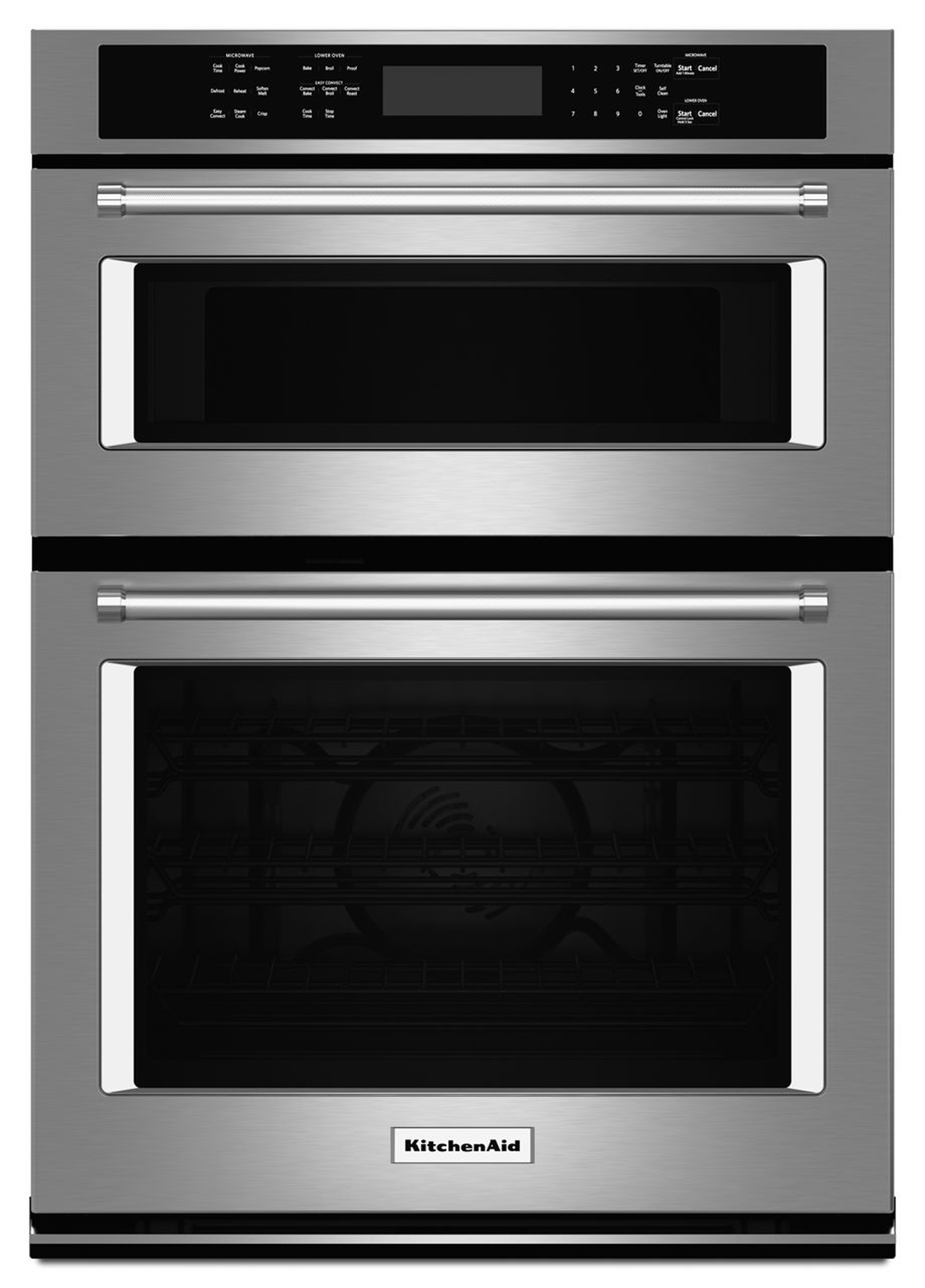 KOCE500ESS-30-Combination-Wall-Oven-w-Even-Heat%E2%84%A2-True-Convection-Stainless-Steel