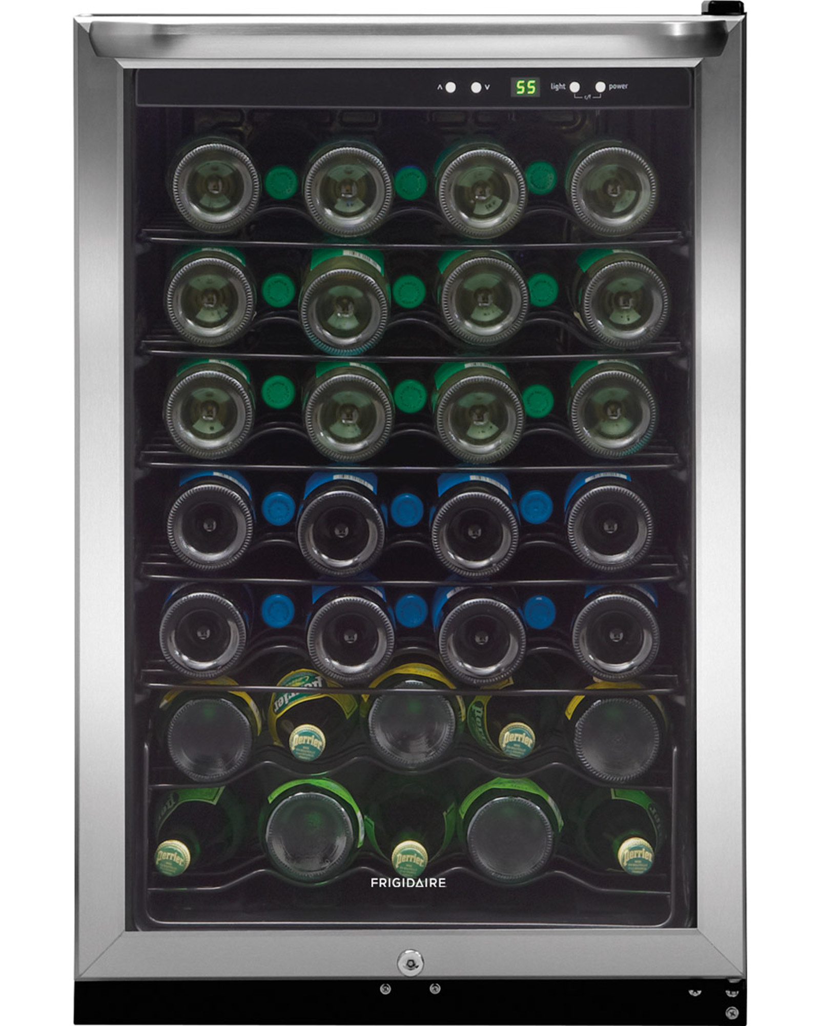 Frigidaire FFWC4222QS 4.6 cu. ft. Wine Cooler - Stainless Steel FFWC4222QS