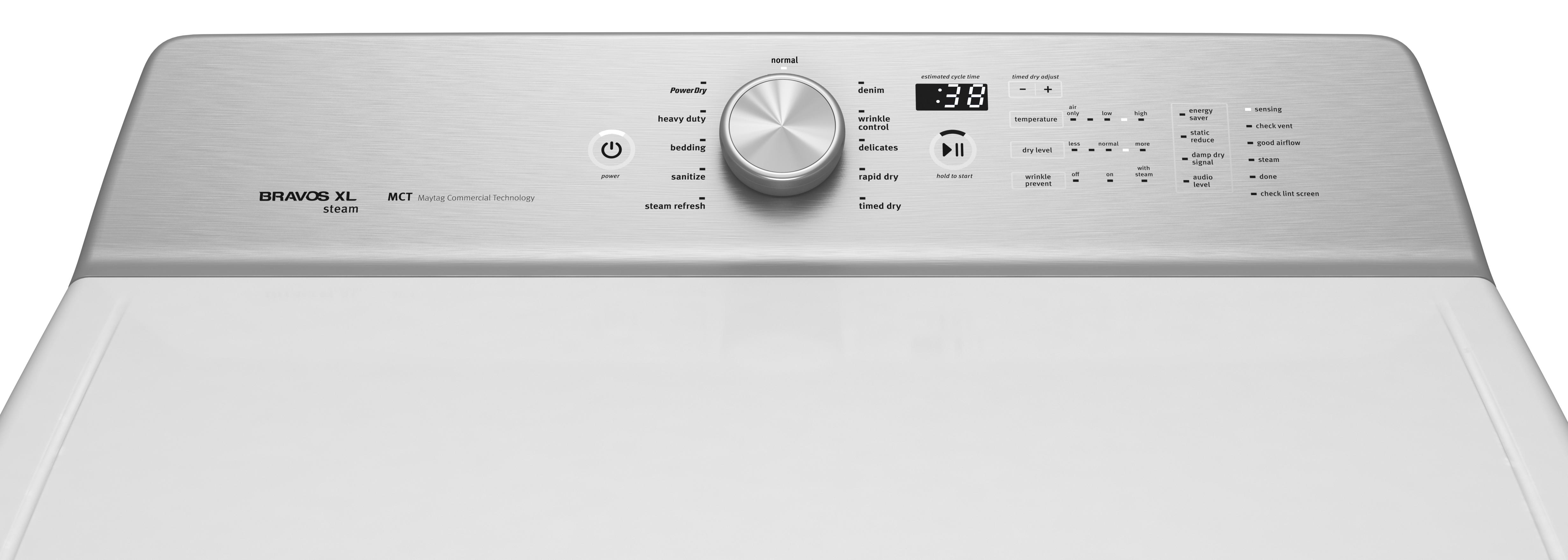 Maytag MEDB855DW 8.8 cu. ft. High Capacity Electric Dryer - White