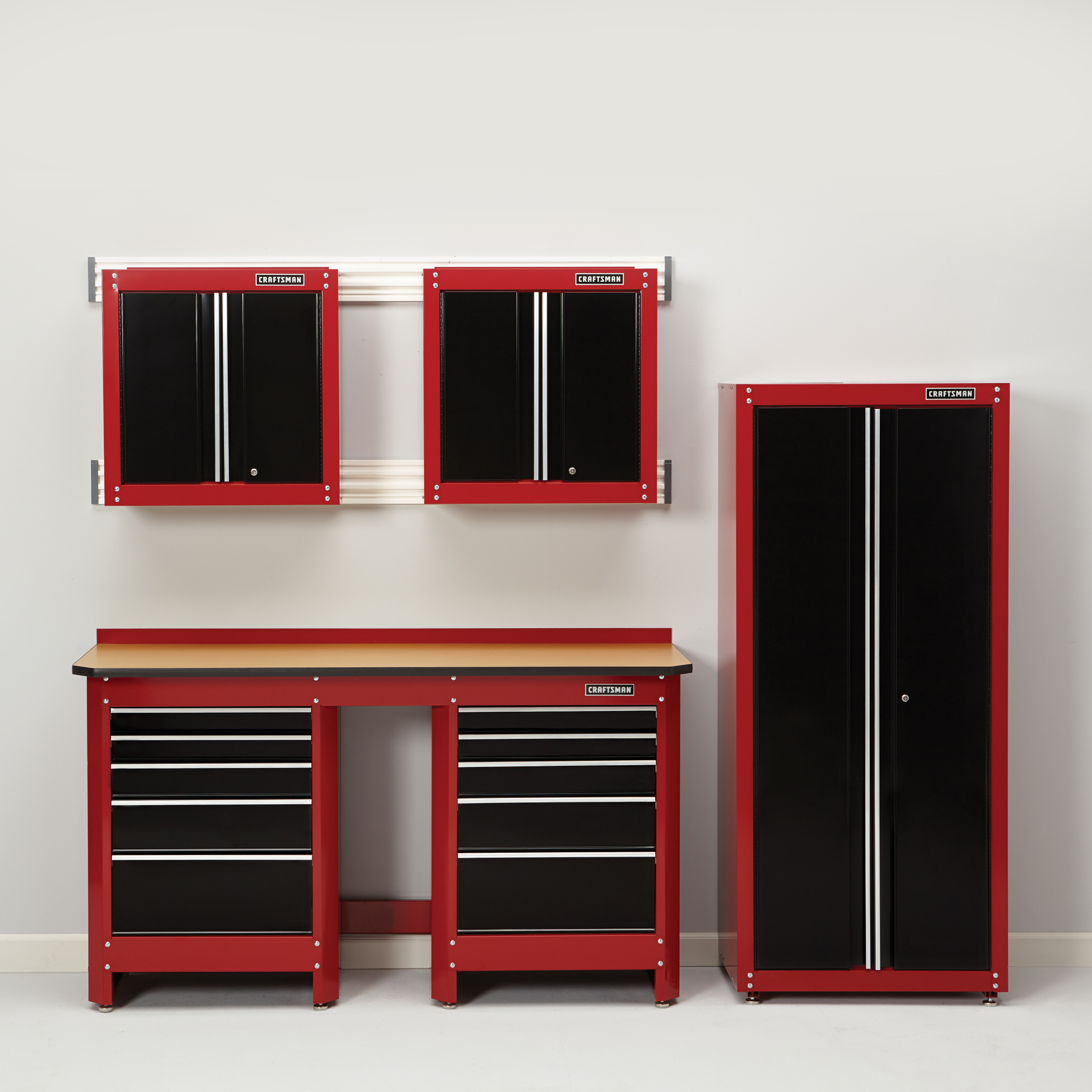 shelving metal cabinets doors craftsman with tool garage systems cabinet husky sears storage industrial box outdoor best rolling