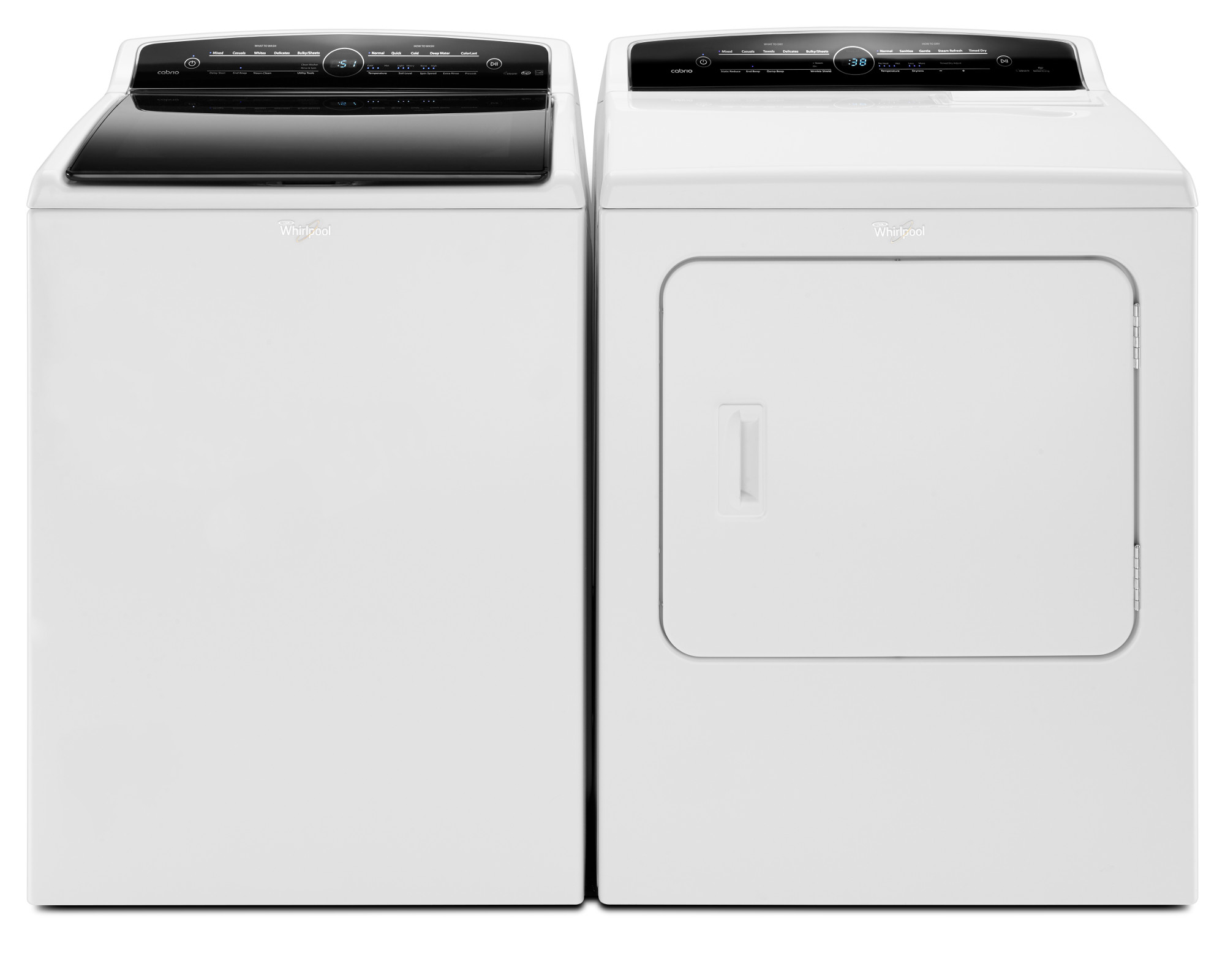 Whirlpool WED7300DW 7.0 cu. ft. Cabrio® Electric Dryer - White