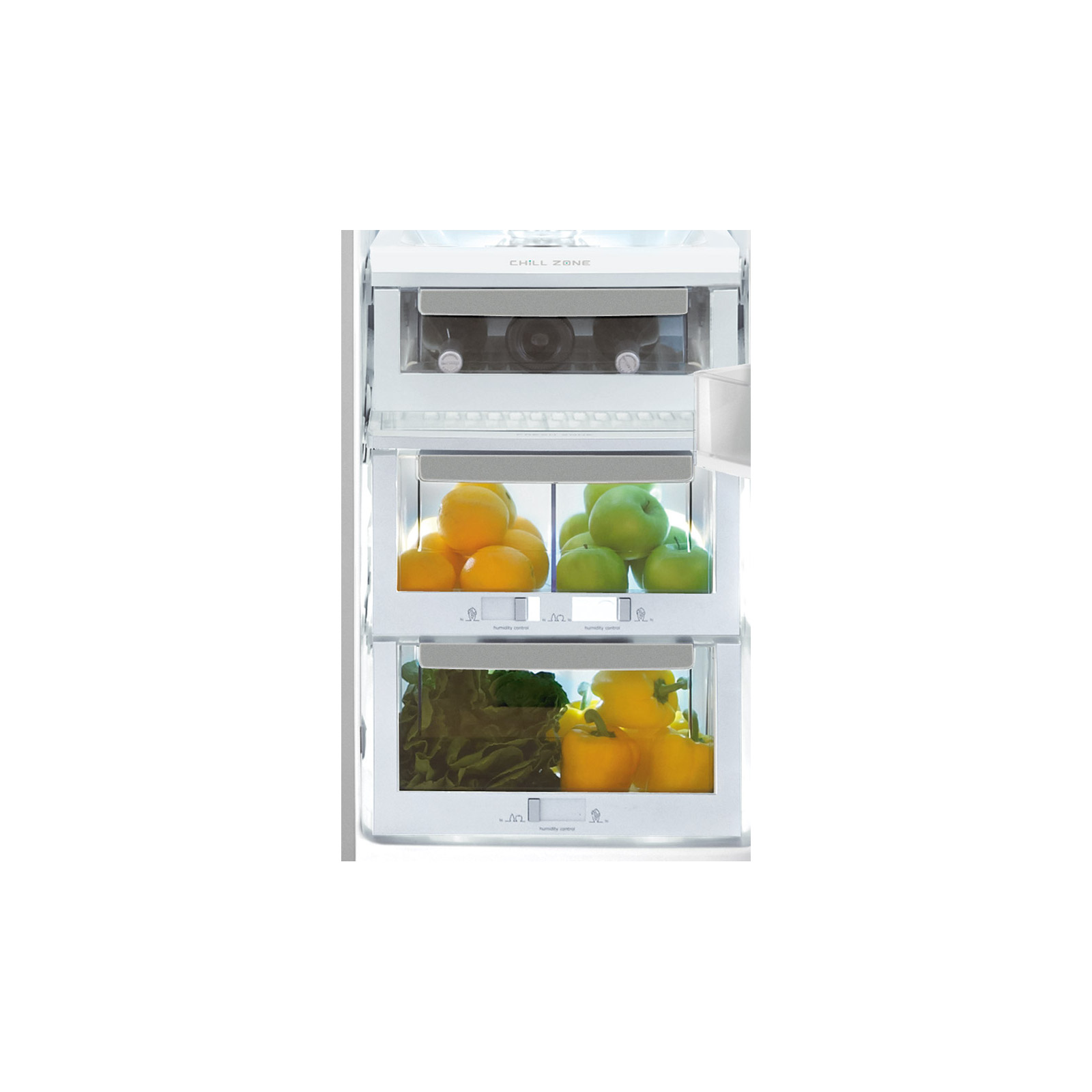 Electrolux EI23CS65KS 22.7 cu. ft. Counter-Depth Side-by-Side Refrigerator - Stainless Steel