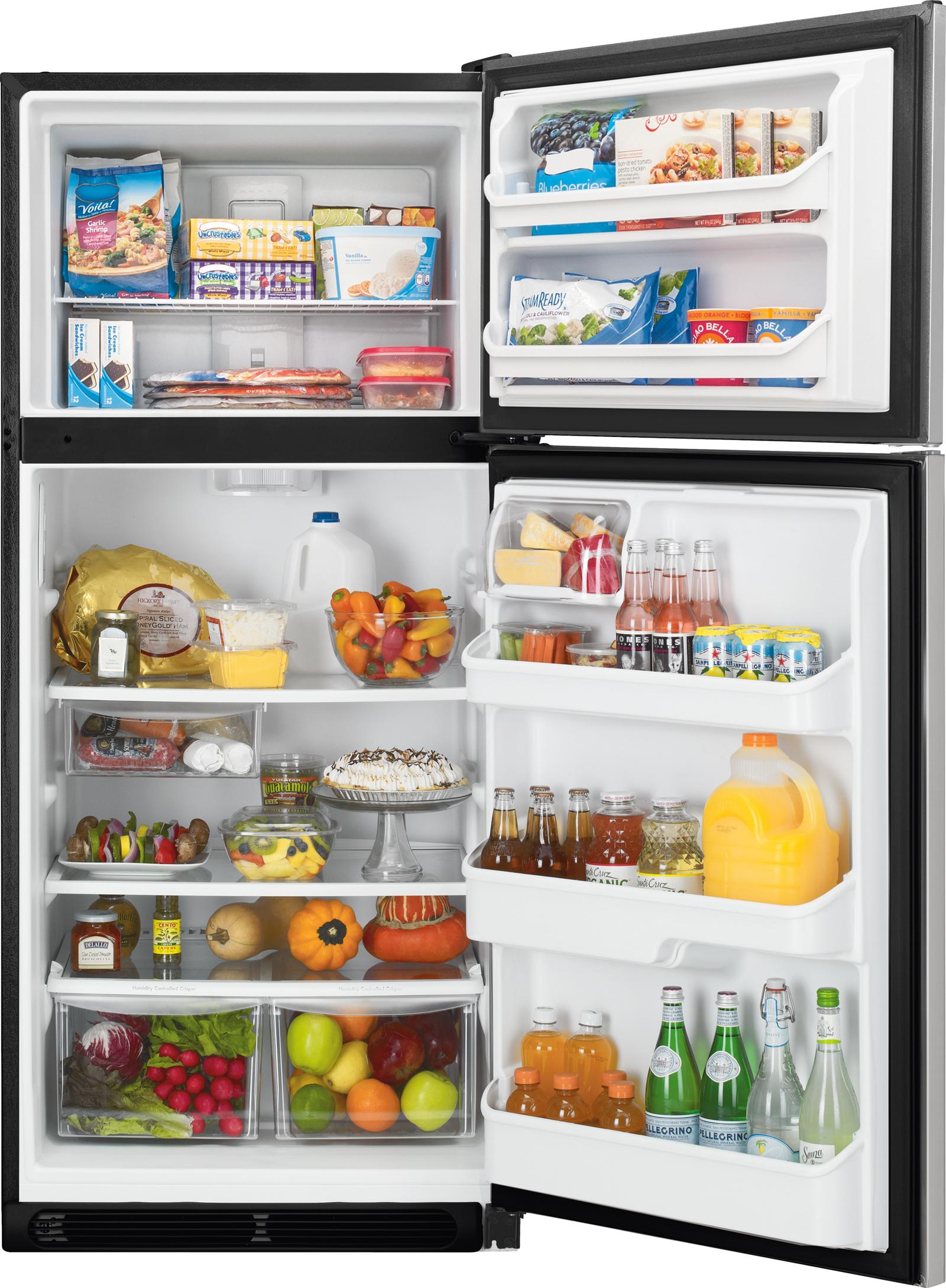 Kenmore 60113 20.4 cu. ft. Top Mount Refrigerator - Stainless Steel
