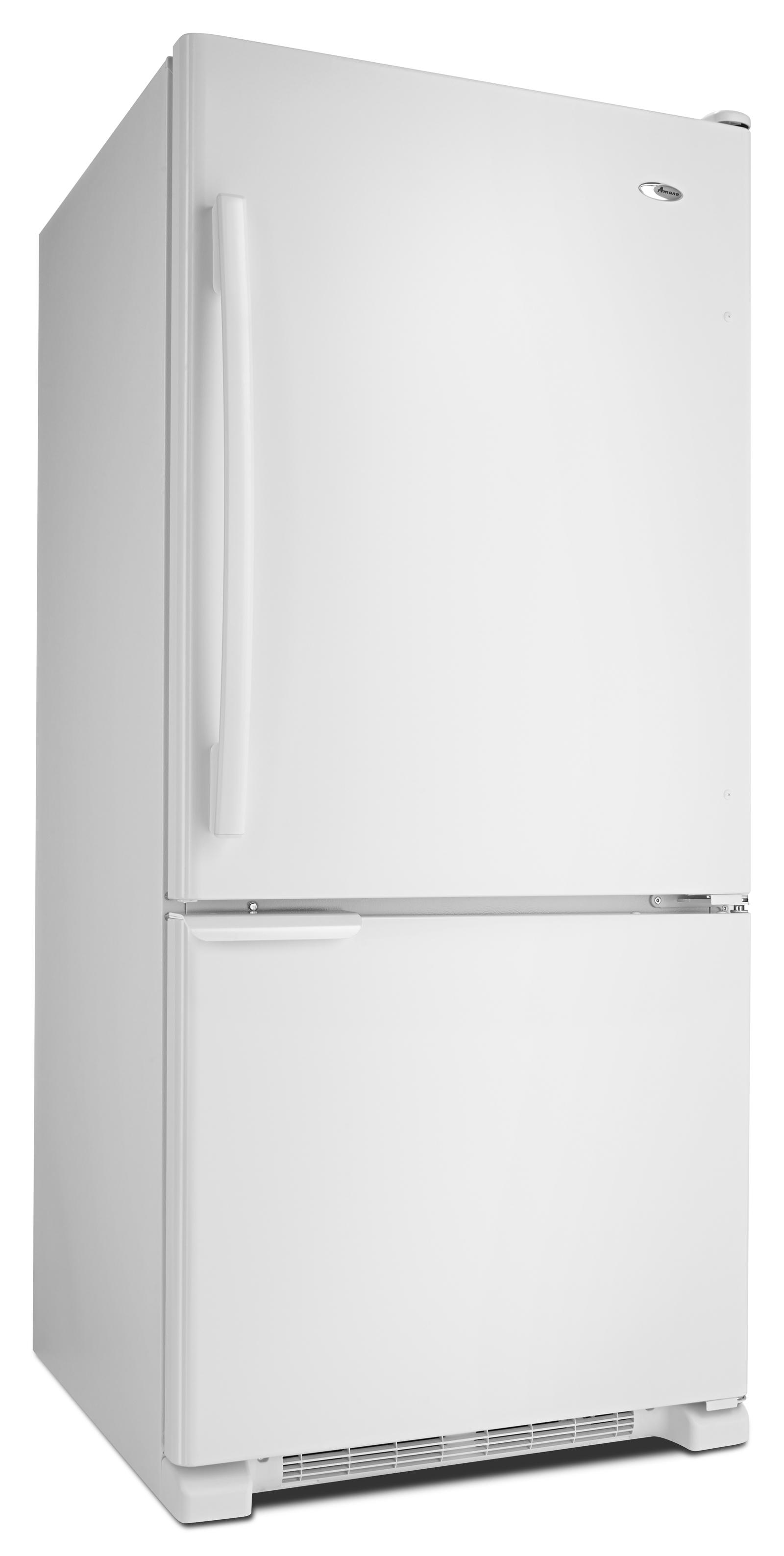 Amana 19 cu. ft. Bottom-Freezer Refrigerator with Garden Fresh™ Crisper Bins