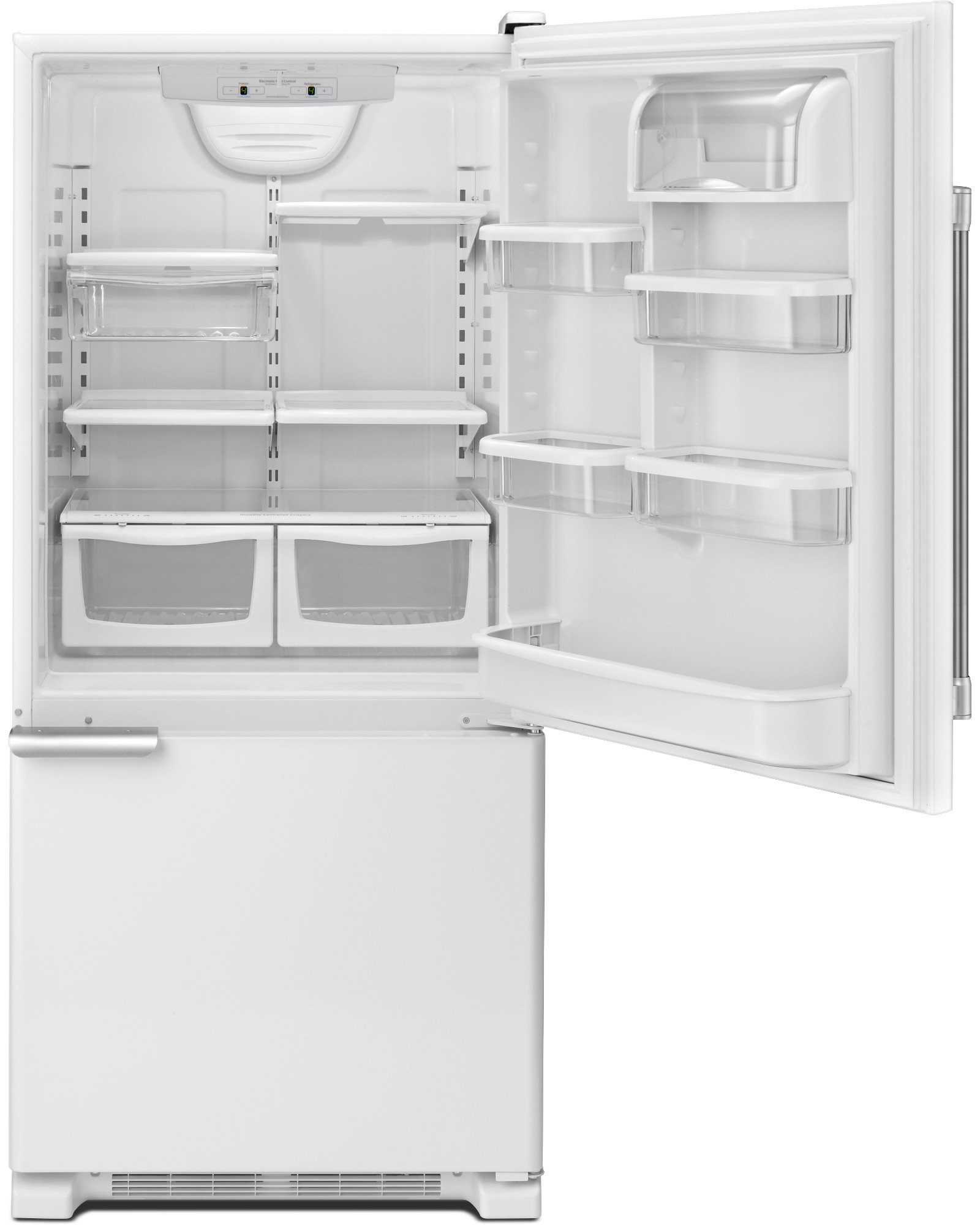 Maytag MBF1953DEH 19 cu. ft. Single Door Bottom Freezer Refrigerator - White