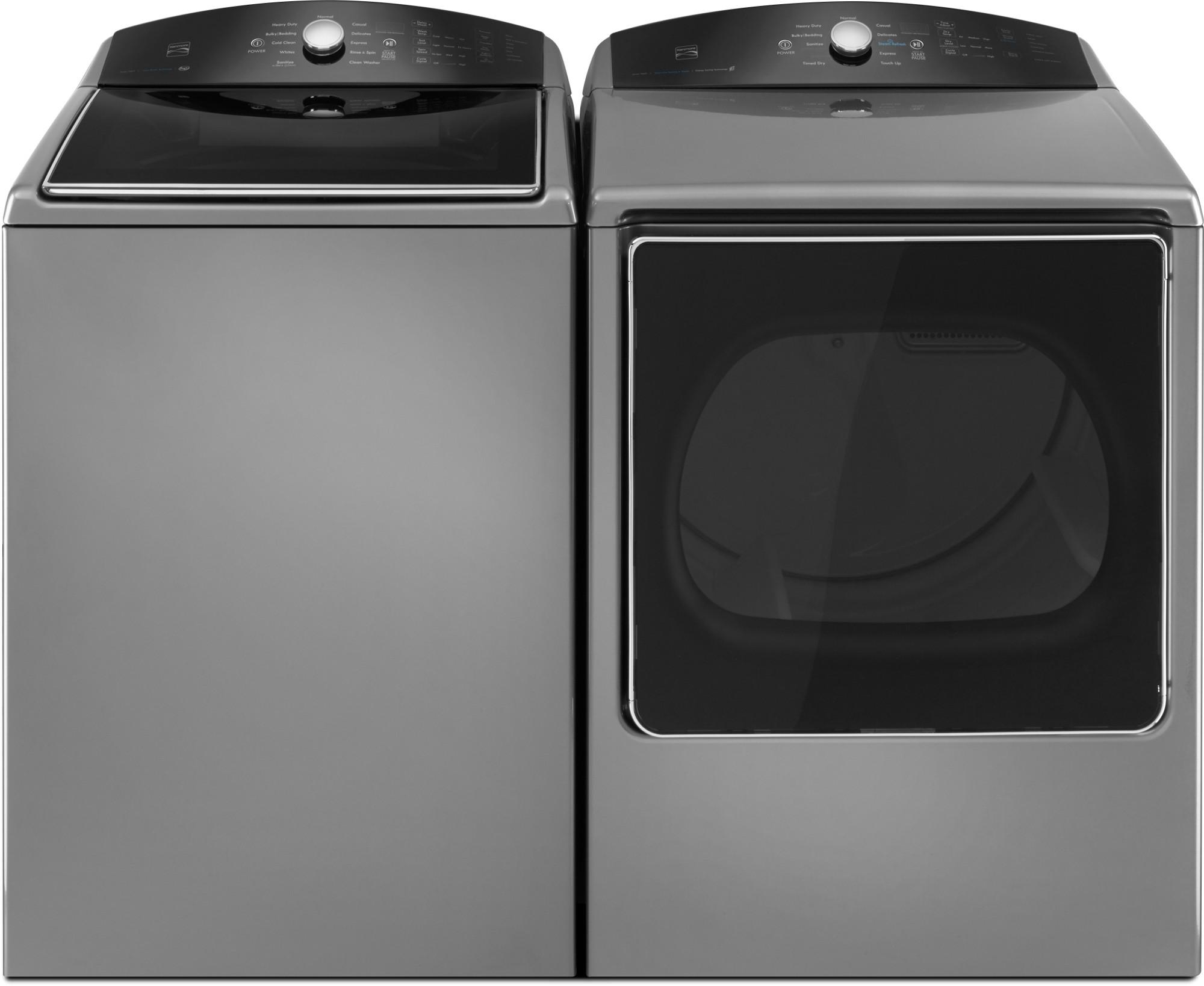 Kenmore 79133 8.8 cu. ft. Gas Dryer w/ Steam Refresh - Metallic