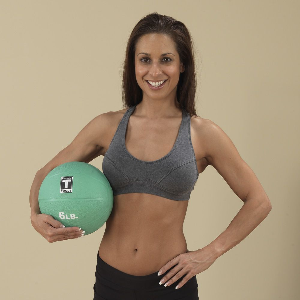 Body Solid BSTMB6 6 lb. Aqua Medicine Ball