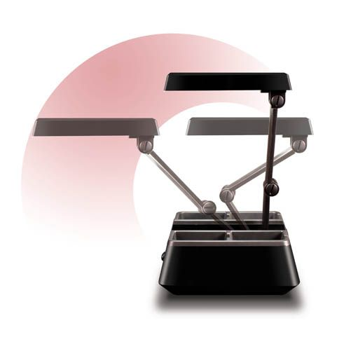 OttLite 13w Charging Valet Desk Lamp.