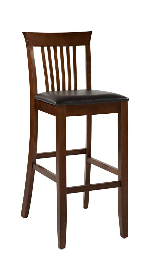 Linon Triena Collection Craftsman Bar Stool 30