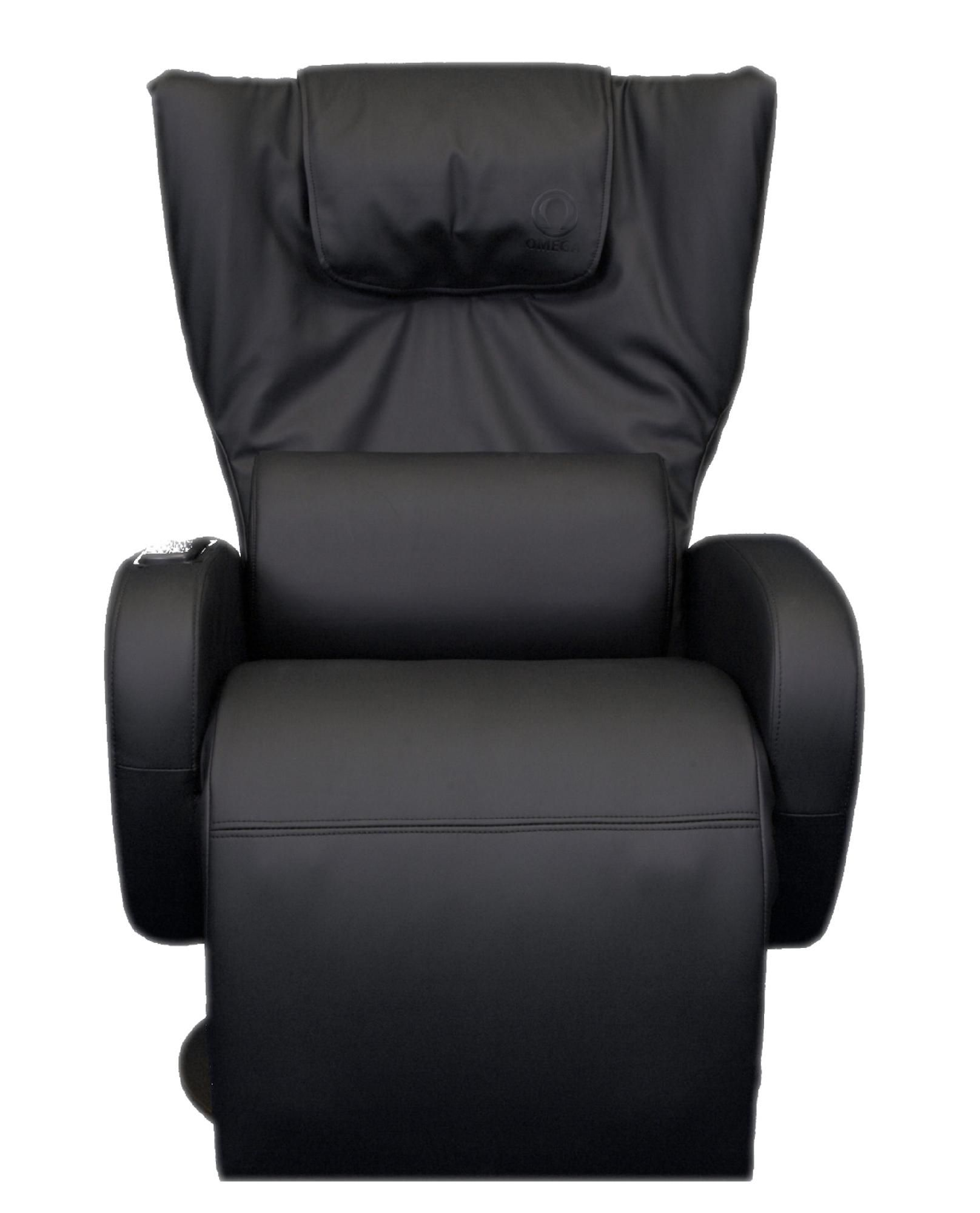Omega Massage Serenity Zero Gravity Relaxation Recliner in BLACK