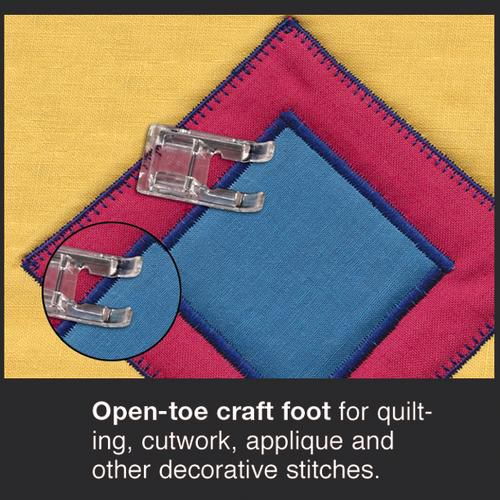 Kenmore Open-Toe Feet with Ditch-Quilting Foot for Horizontal Sewing Machines