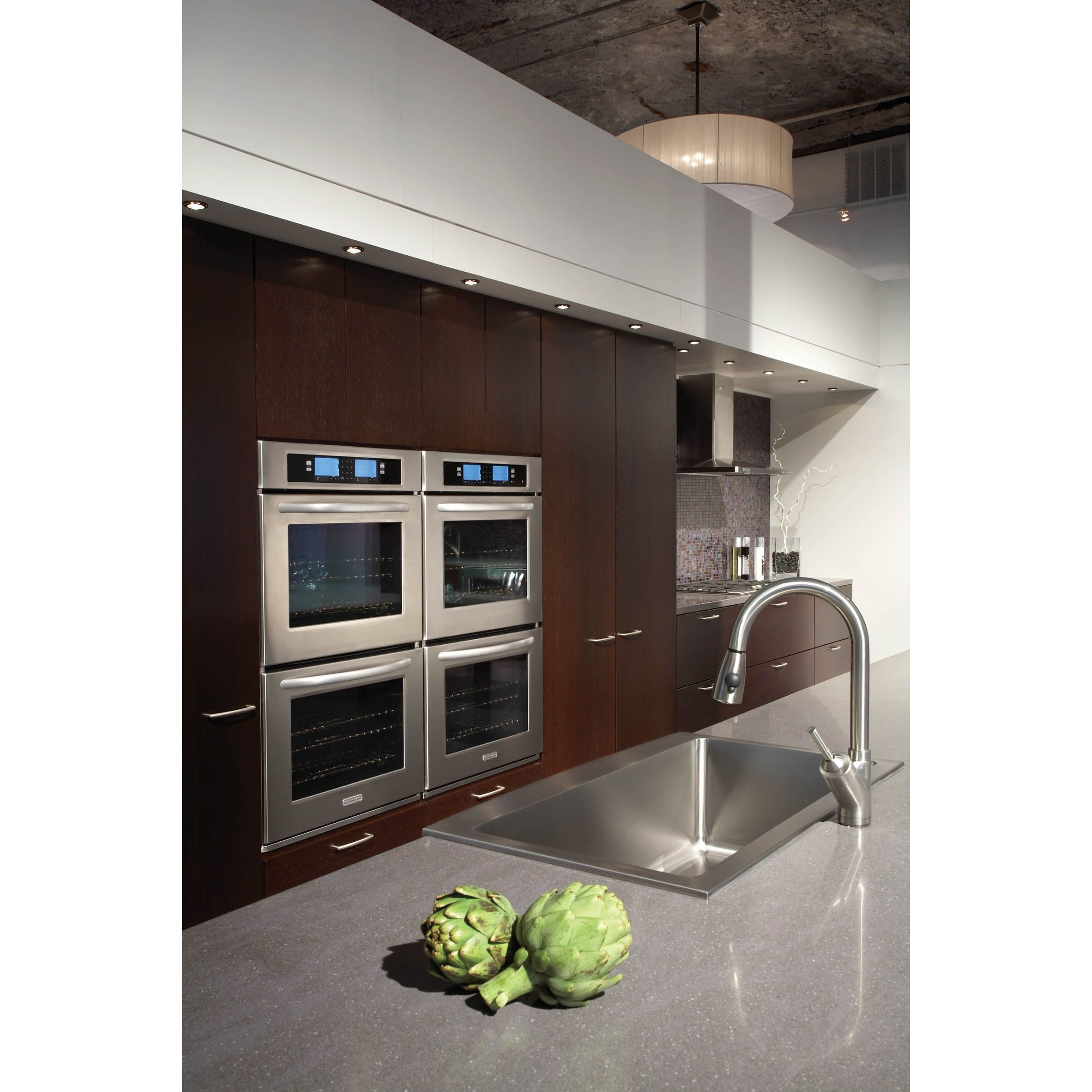 "KitchenAid 30"" Double Wall Oven w/ Steam-Assist Technology"