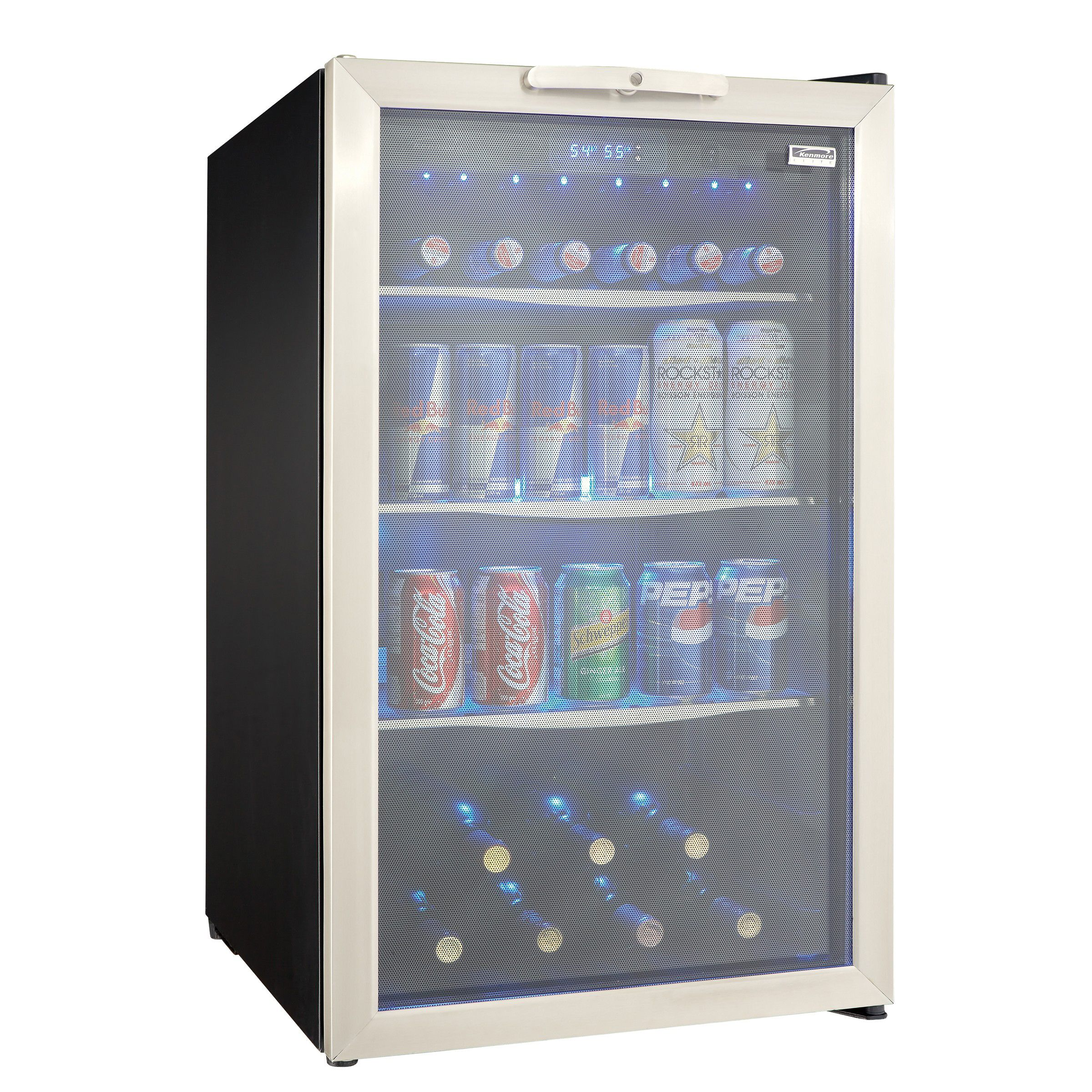 Kenmore Compact Refrigerator 126-Can Beverage Center (9910)