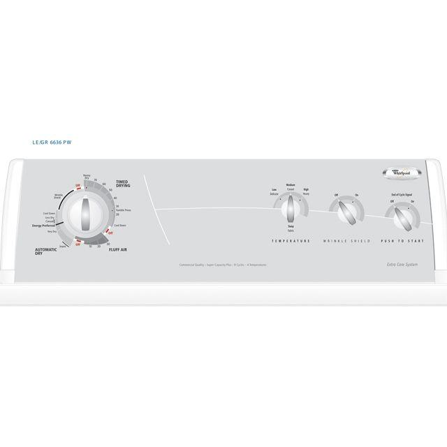 Whirlpool 7.0 cu. ft. Super Capacity Plus Electric Dryer