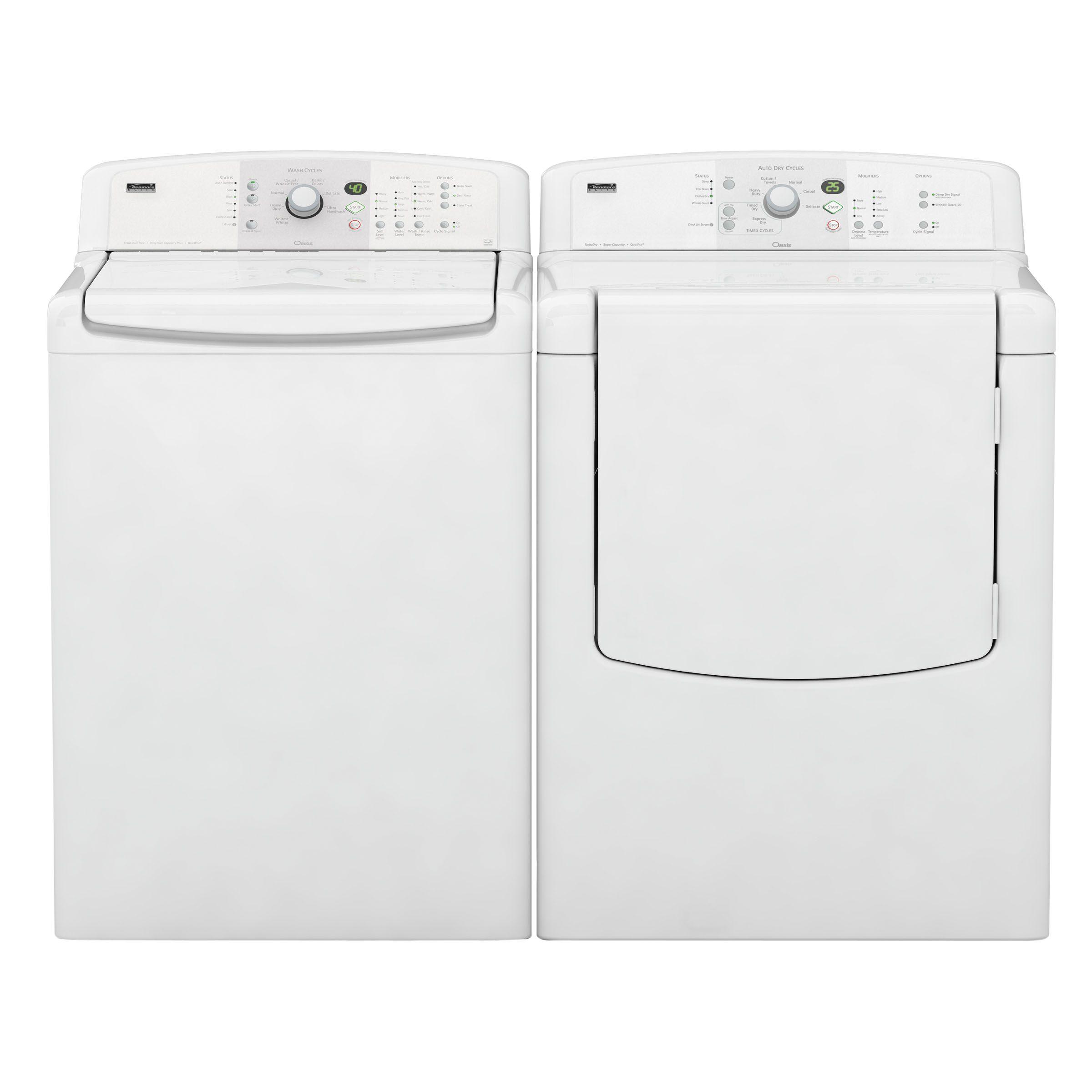 Kenmore Elite Oasis™ 7.0 cu. ft. Capacity Flat Back Gas Dryer