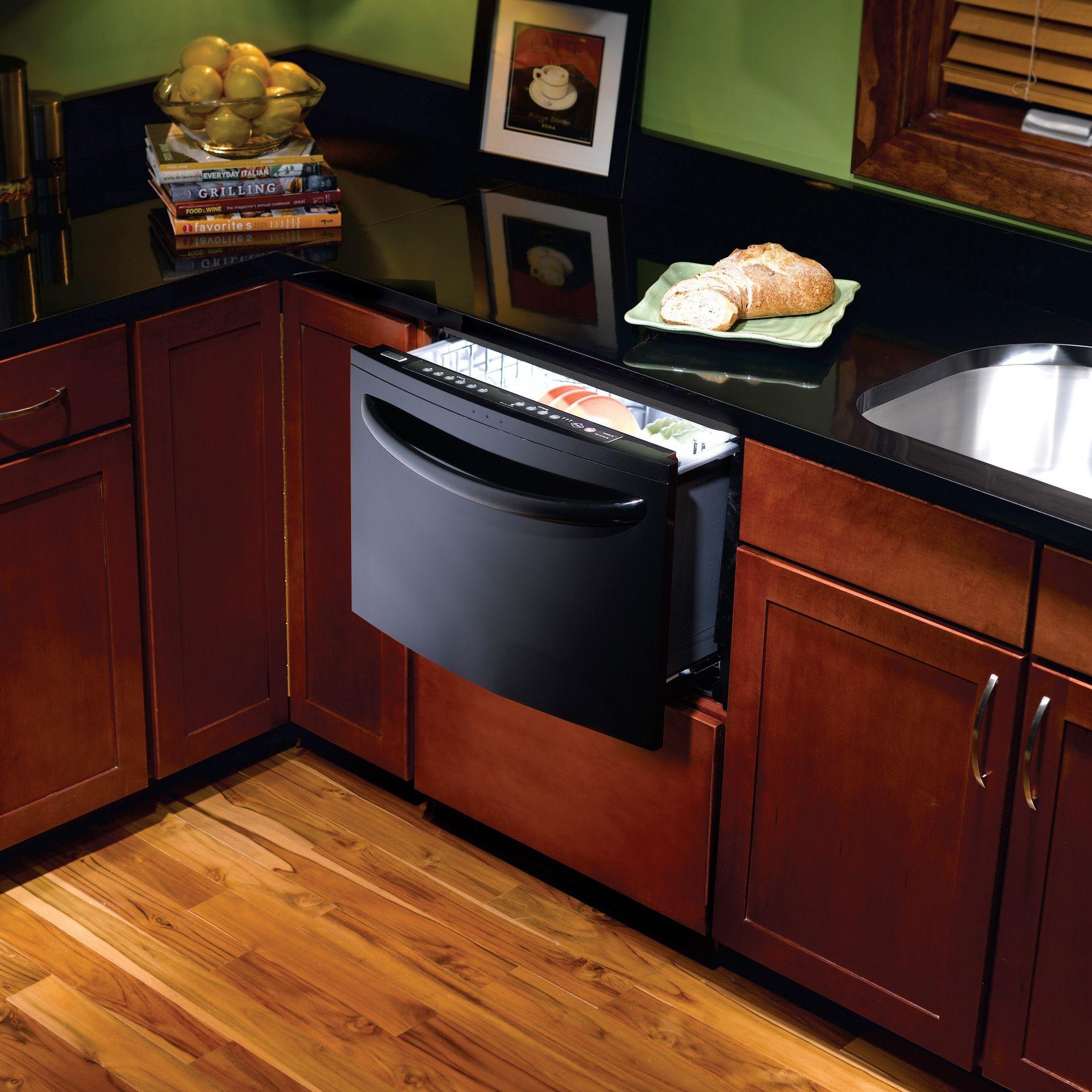 "Kenmore Elite 24"" Single Drawer Dishwasher with Spin Action (1332)"