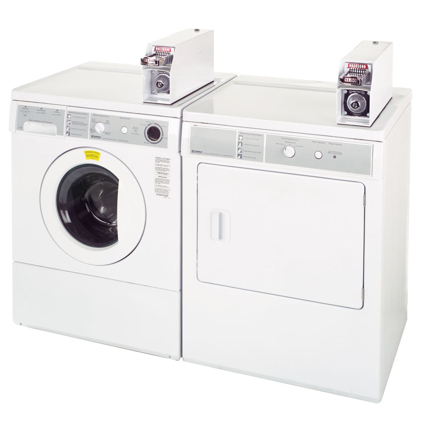 Kenmore 2.7 cu. ft. High Efficiency Coin-Operated Front Load Electric Washer (2718)