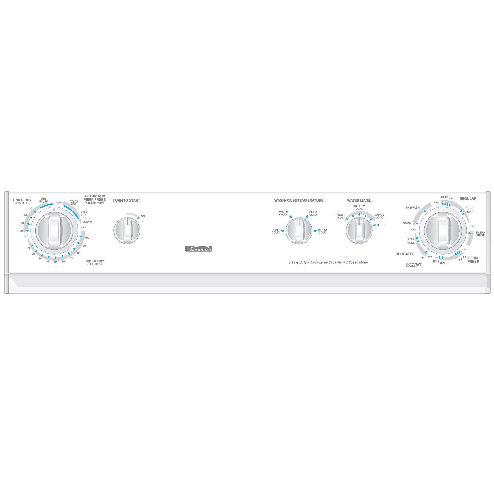 Kenmore 27 in. Electric Extra Large Capacity Laundry Center with Dryer - 9781