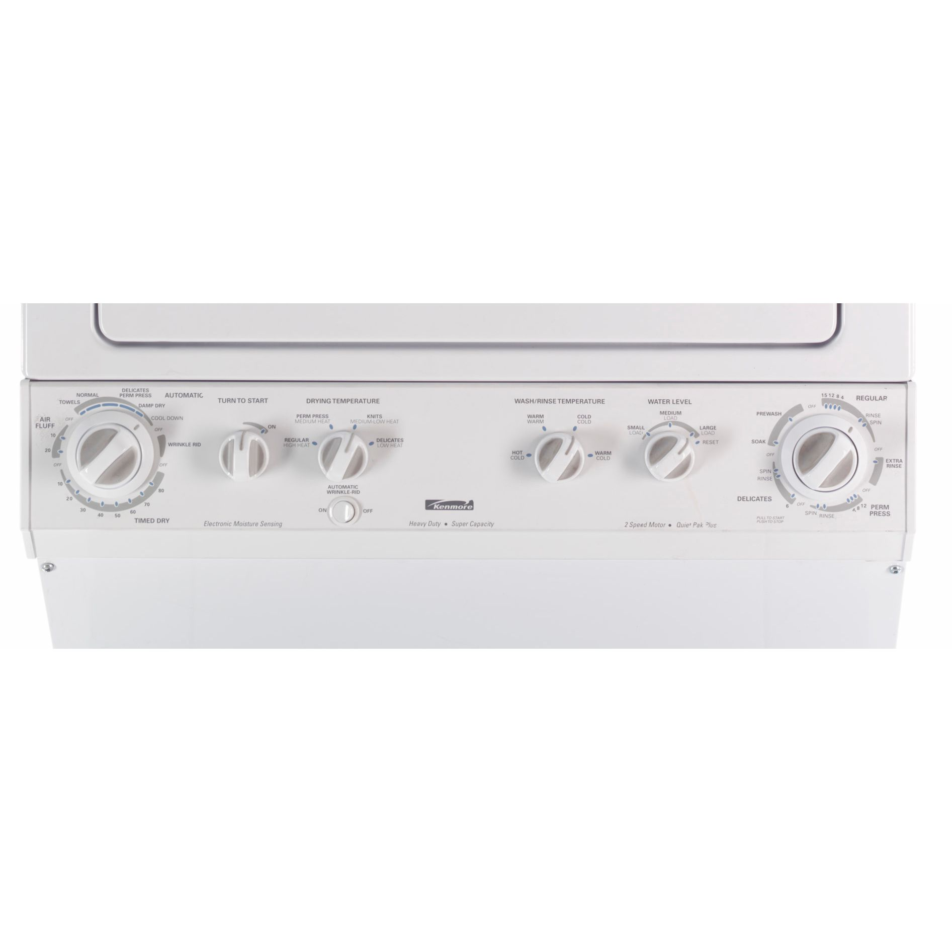 Kenmore 27 in. Electric Super Capacity Laundry Center with Dryer - 9791