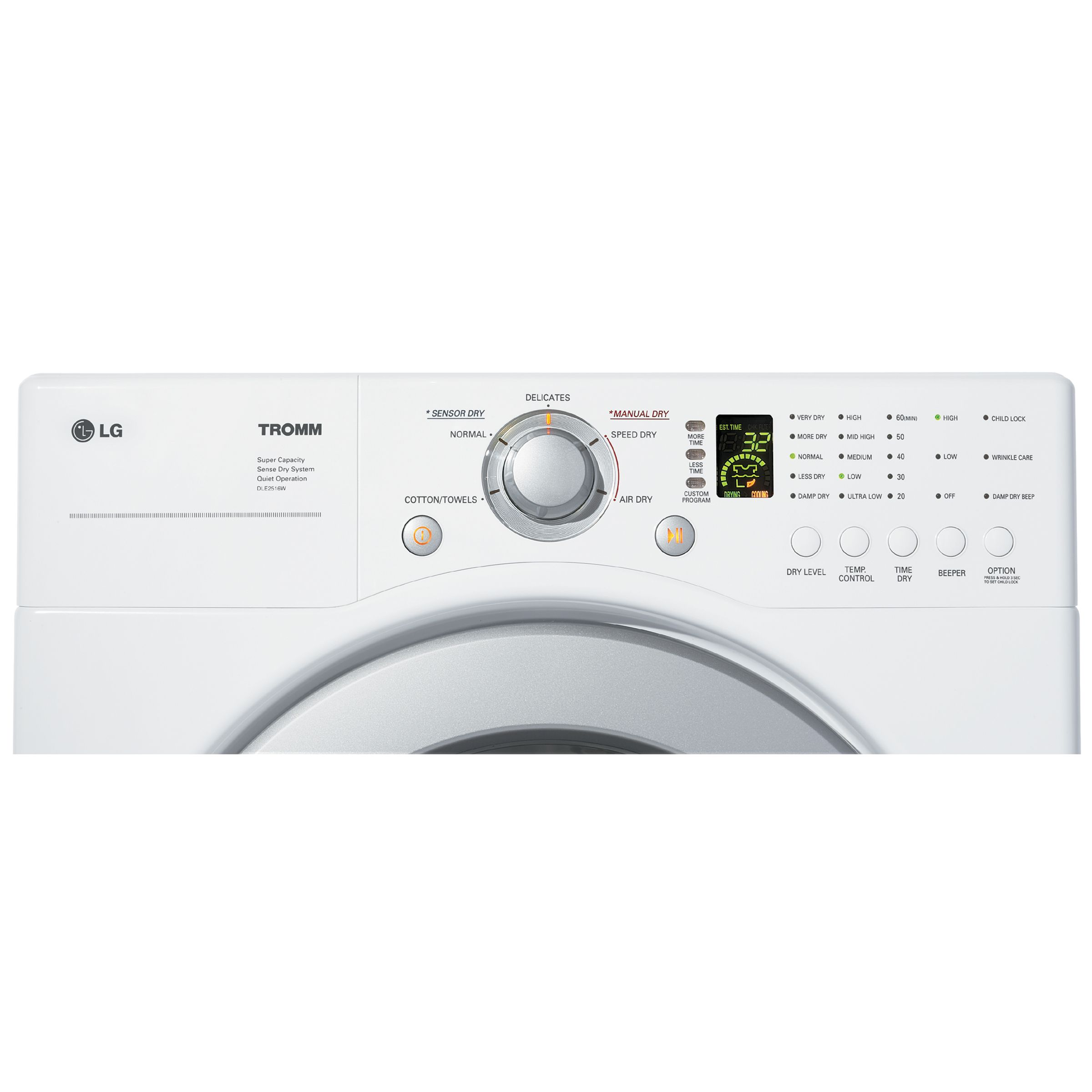 LG 3.6 cu. ft. Capacity Front Load Washer w/ Direct Drive Motor - WM2016C