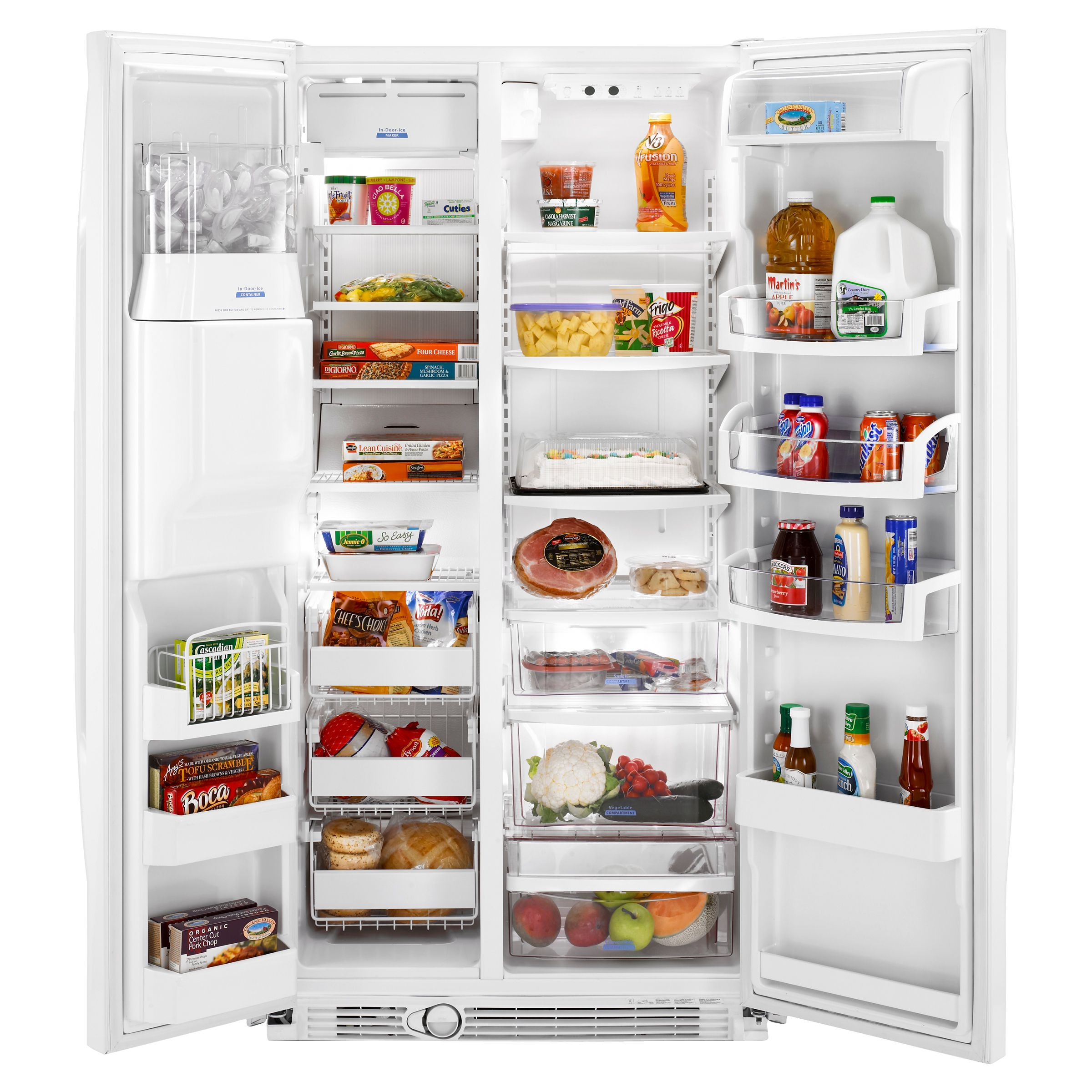 Whirlpool 24.5 cu. ft. Side-by-Side Refrigerator w/ Fast Fill Technology