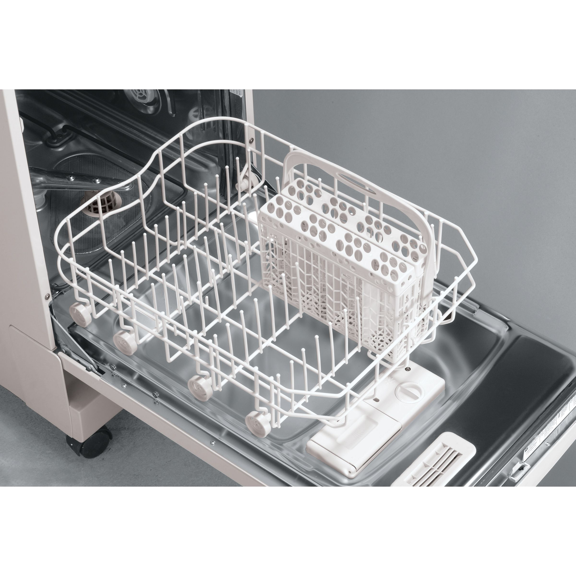 "Frigidaire 18"" Portable Dishwasher with Stainless Steel Interior"