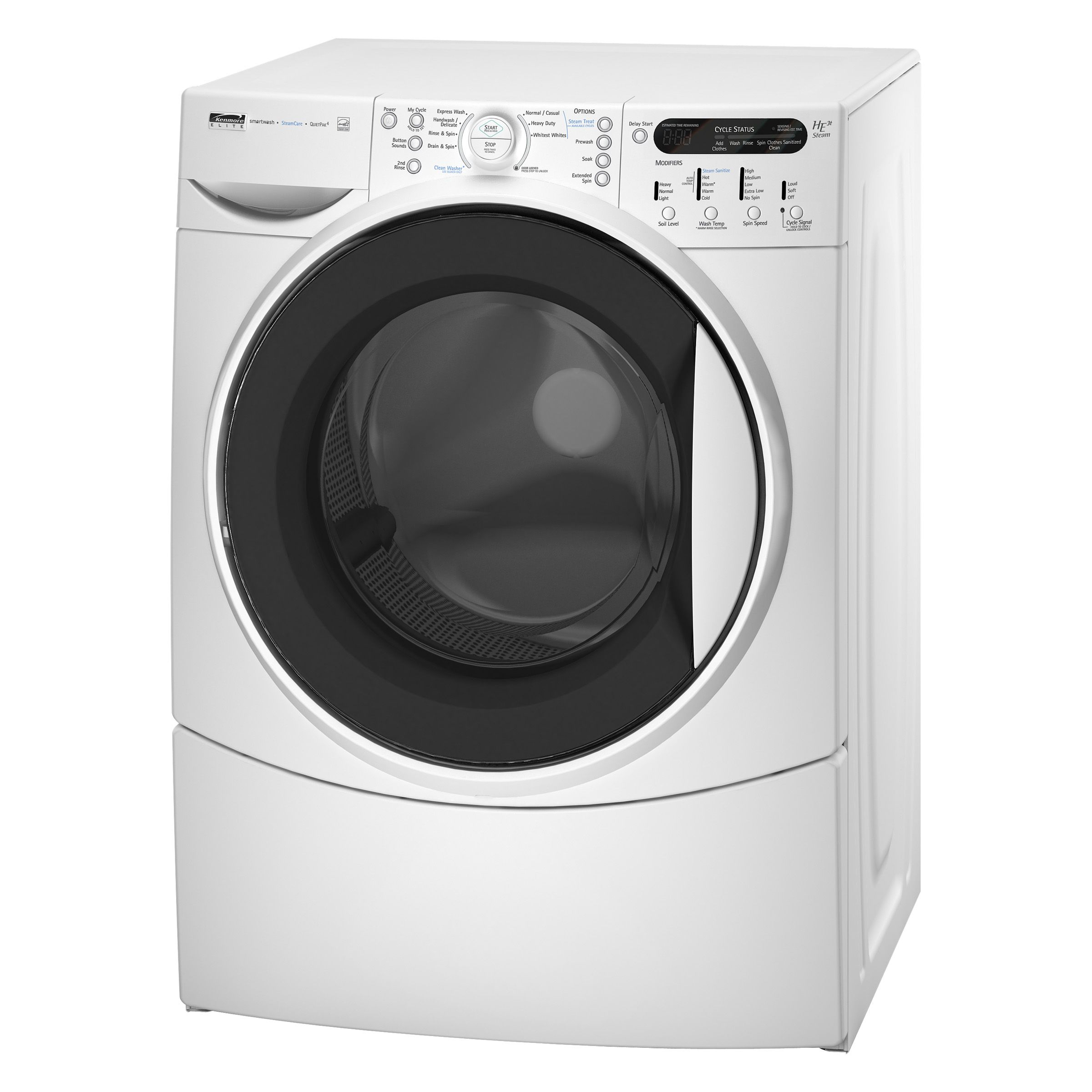 Kenmore Elite HE3t Steam™ 4.0 cu. ft. Front-Load King Size Capacity Plus Washer Washing Machine (4674)