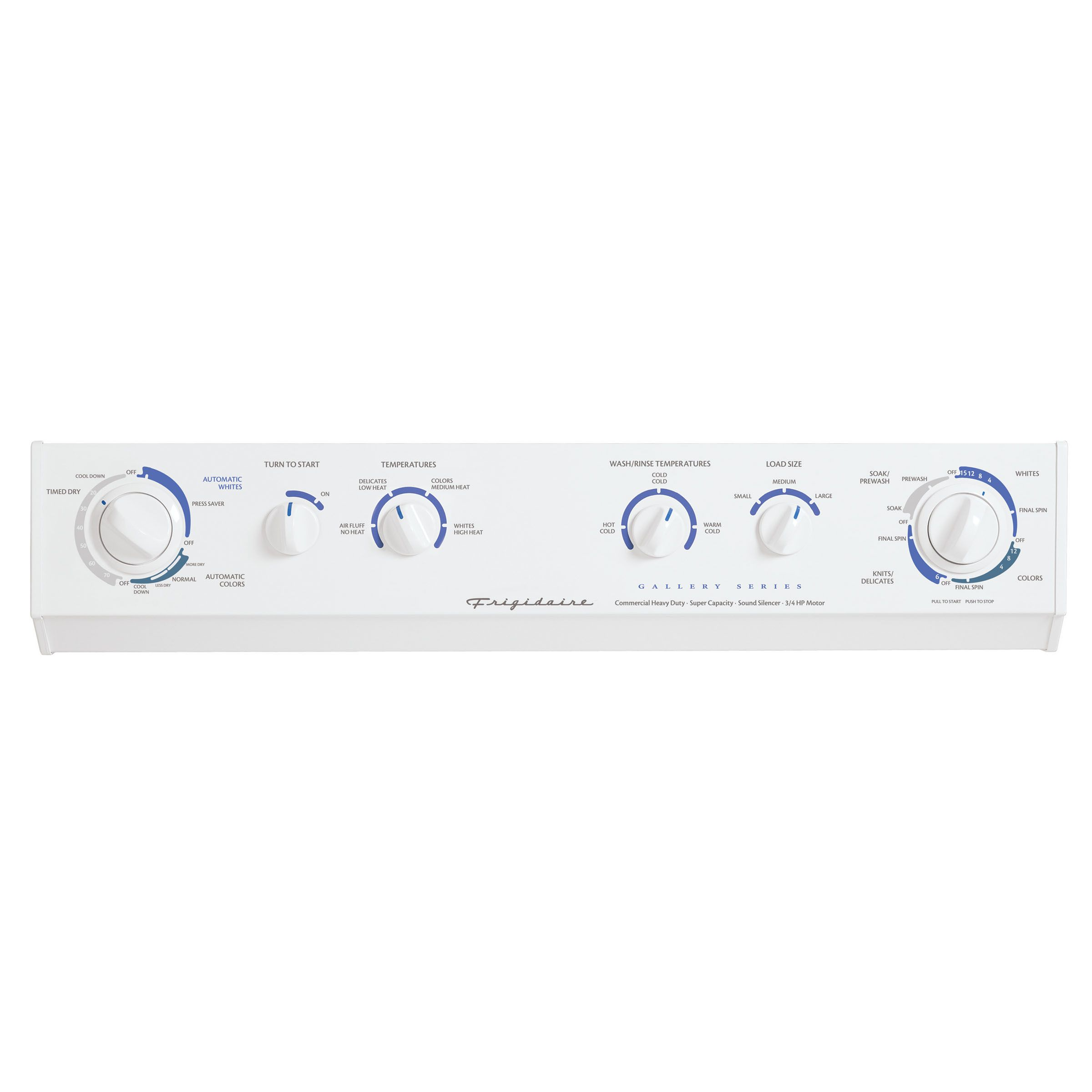 Frigidaire 27 in. Wide Gas Stacked Laundry Center (GLGT1031F)
