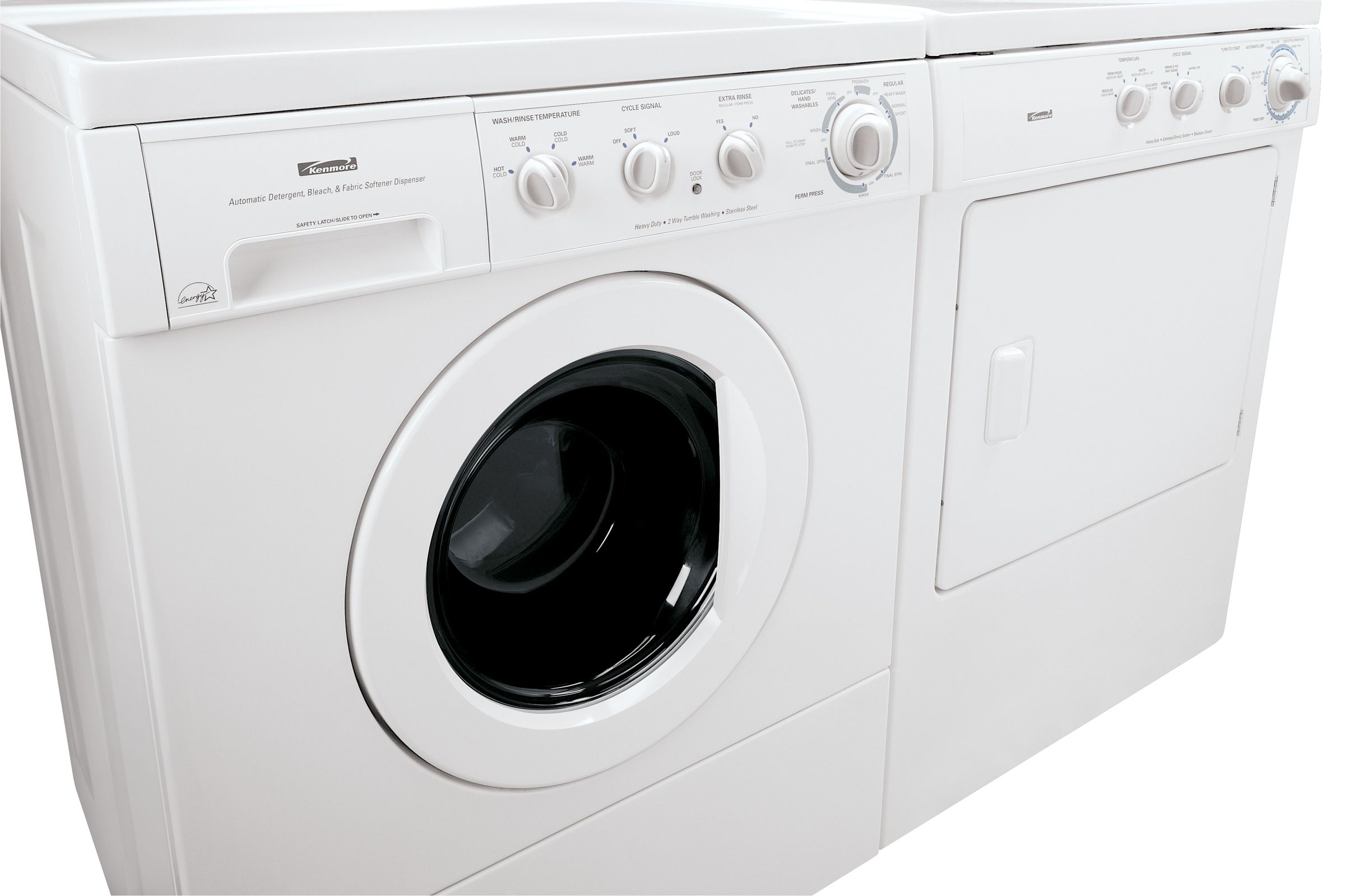 Kenmore High-Efficiency 2.7 cu. ft. Front-Load Washing Machine (4041)
