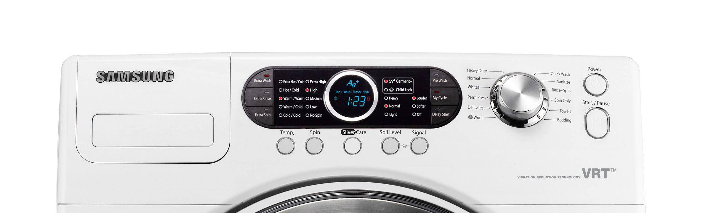 Samsung High-Efficiency 4.0 cu. ft. Front-Load Washing Machine (WF328AA)