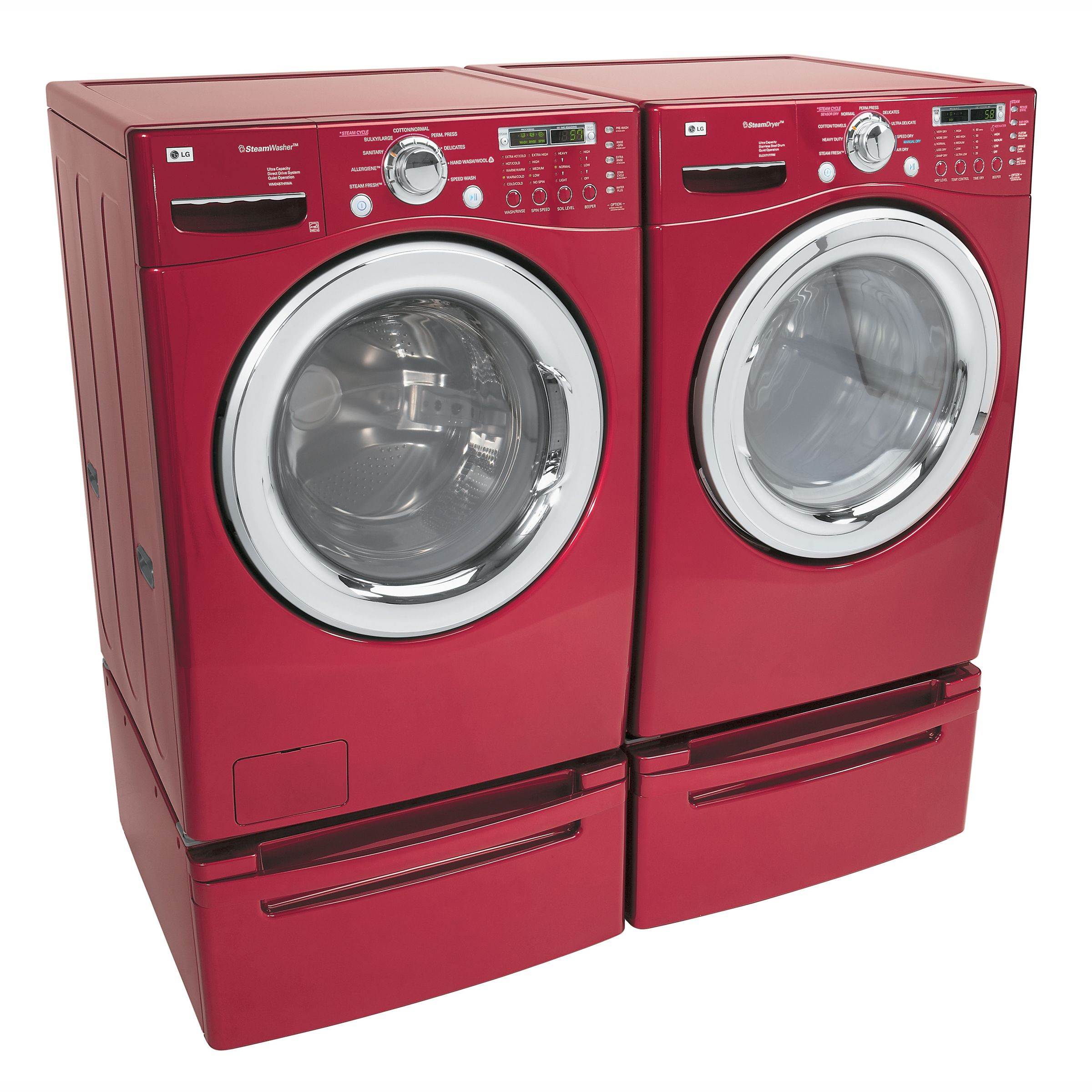 LG 4.2 cu. ft. Ultra Capacity SteamWasher™ w/ Allergiene™
