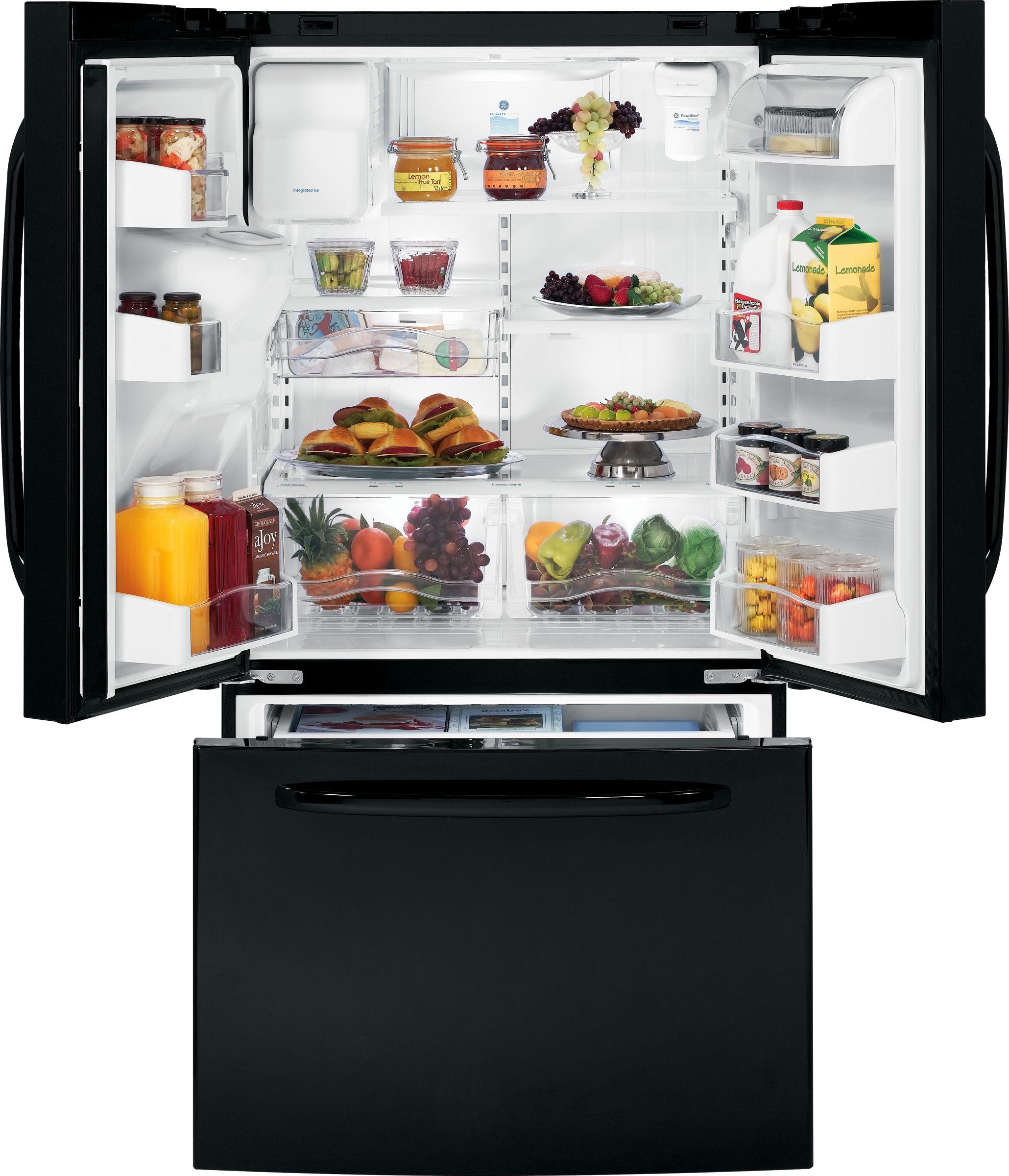 GE 25.8 cu. ft. French-Door Bottom-Freezer Refrigerator