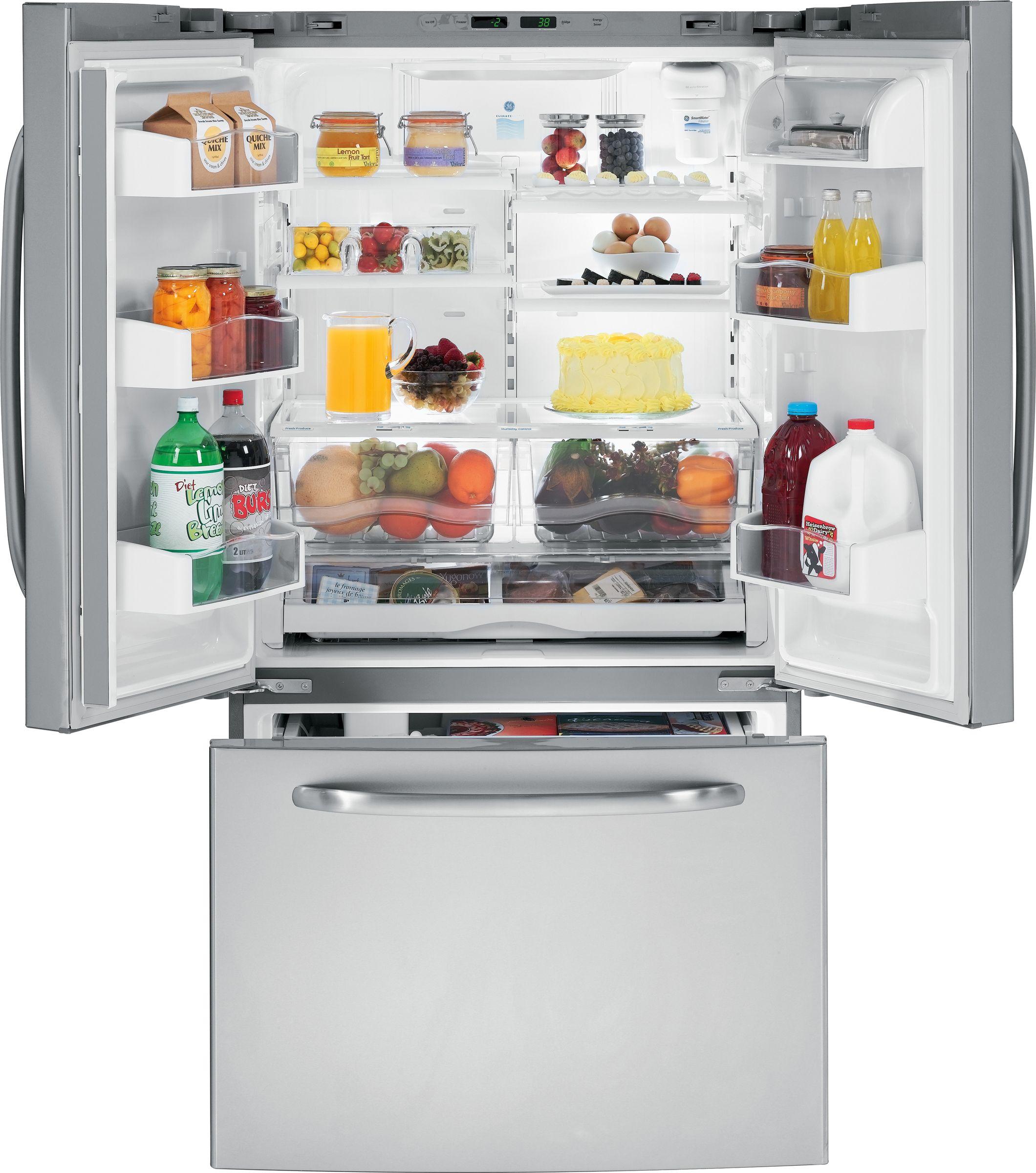 GE 25.8 cu. ft. French-Door  Refrigerator (GFSS6KEX)