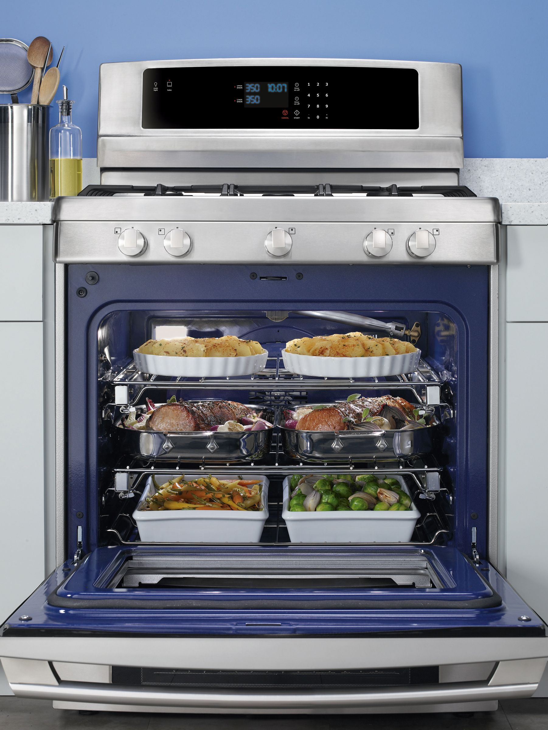 "Electrolux 30"" Freestanding LP Gas Range - Stainless Steel"
