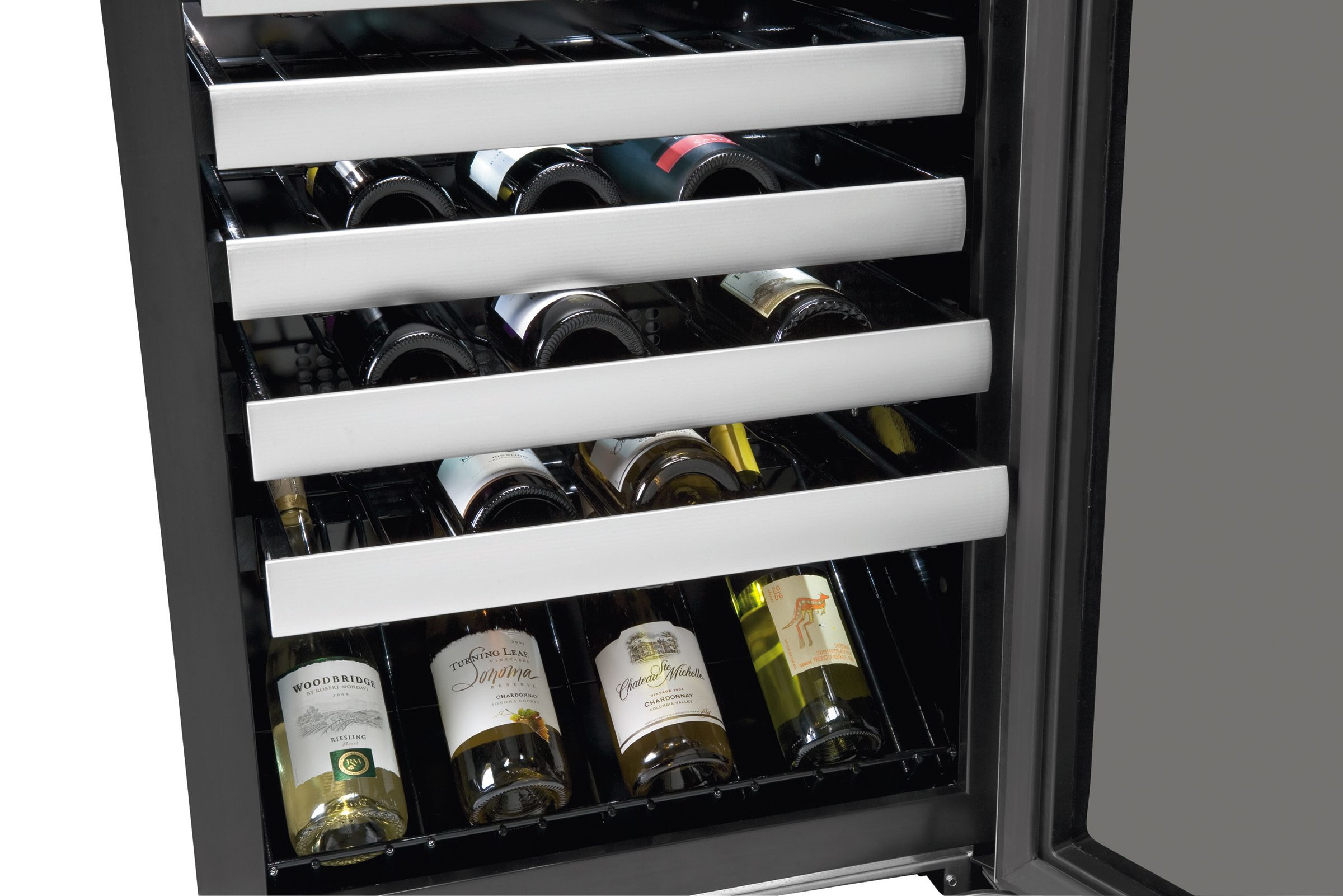 Electrolux 44 Bottle Wine Cooler - Stainless Steel