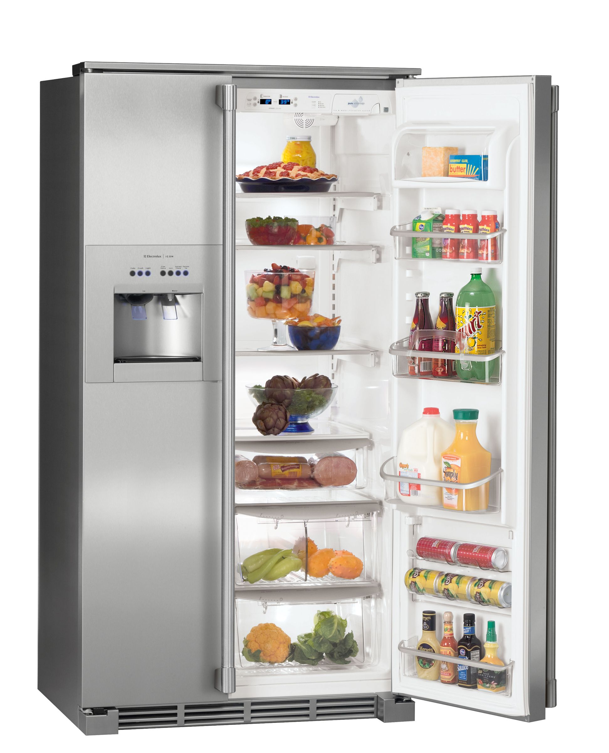 Electrolux ICON 22.6 cu. ft. Side-By-Side Refrigerator - Stainless Steel