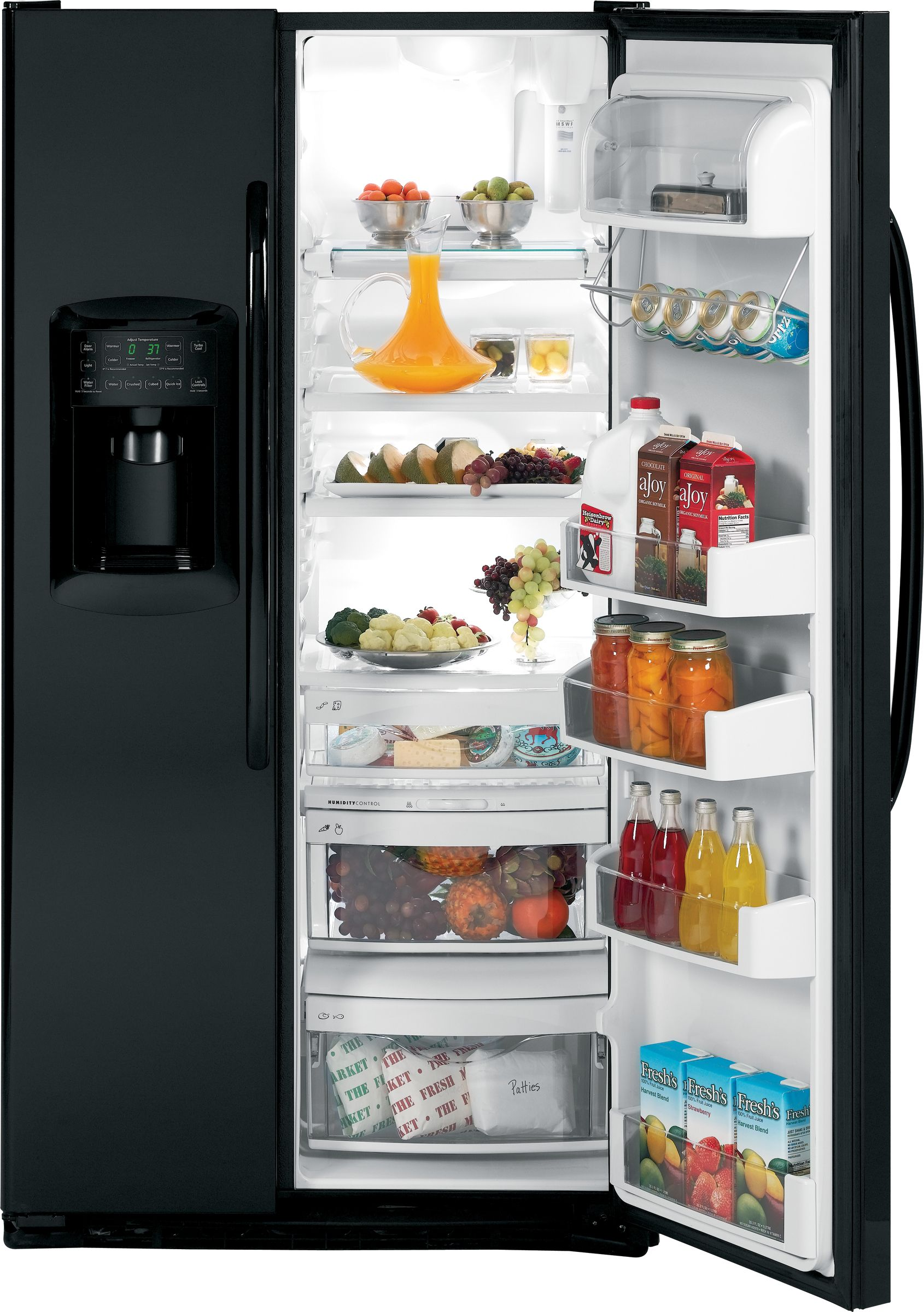 GE 22.6 cu. ft. Counter Depth Side-By-Side Refrigerator