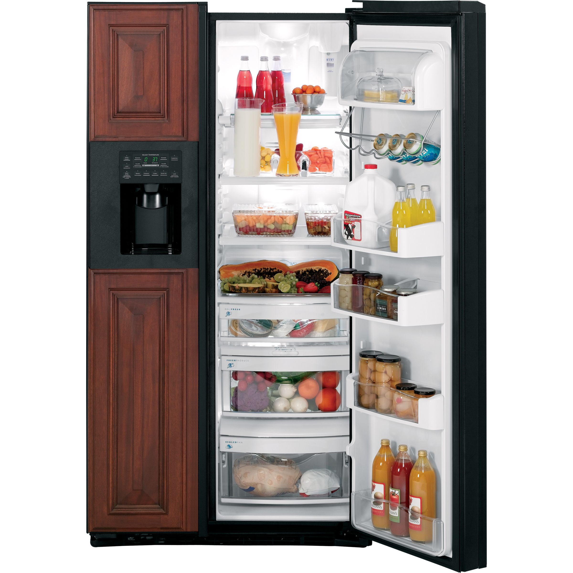 GE Profile Profile™ Series 23.3 cu. ft. Counter Depth Side-By-Side Refrigerator