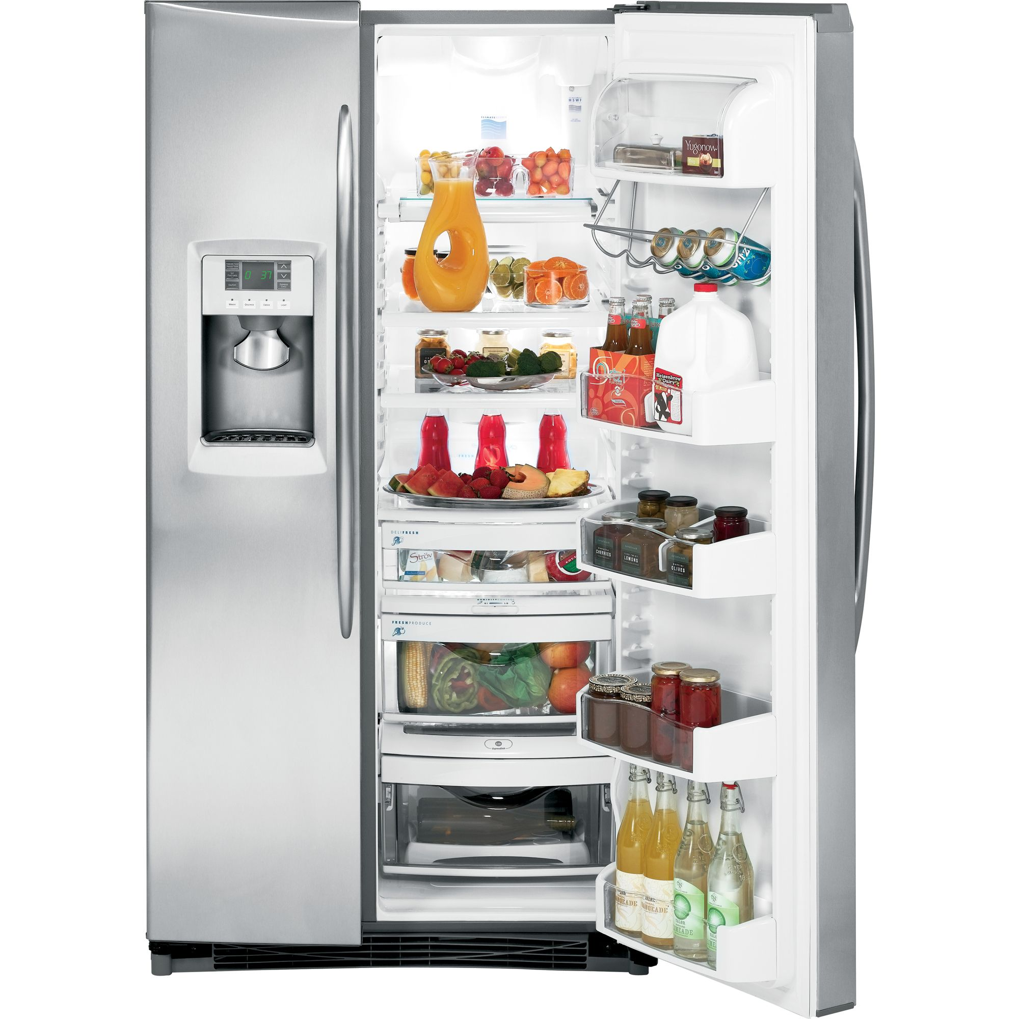 GE 25.6 cu. ft. Side-By-Side Refrigerator
