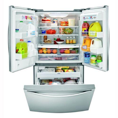 Kenmore Elite 25 cu. ft. French-Door Bottom Freezer Refrigerator (7854)