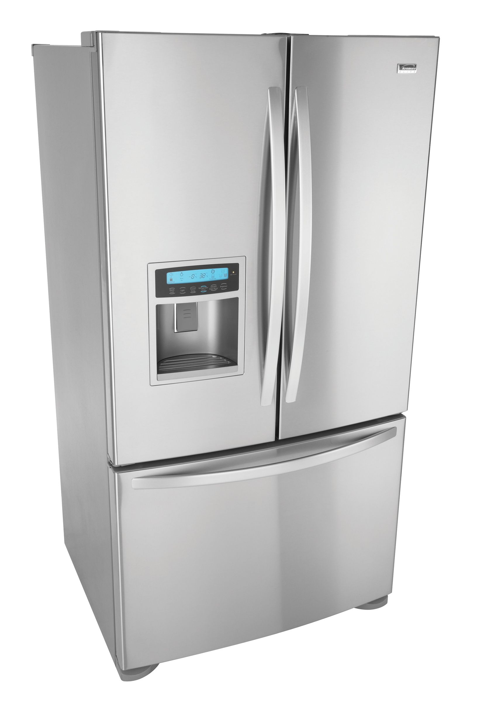 Kenmore Elite 25.0 cu. ft. TRIO® Ice & Water Dispensing French-Door Refrigerator