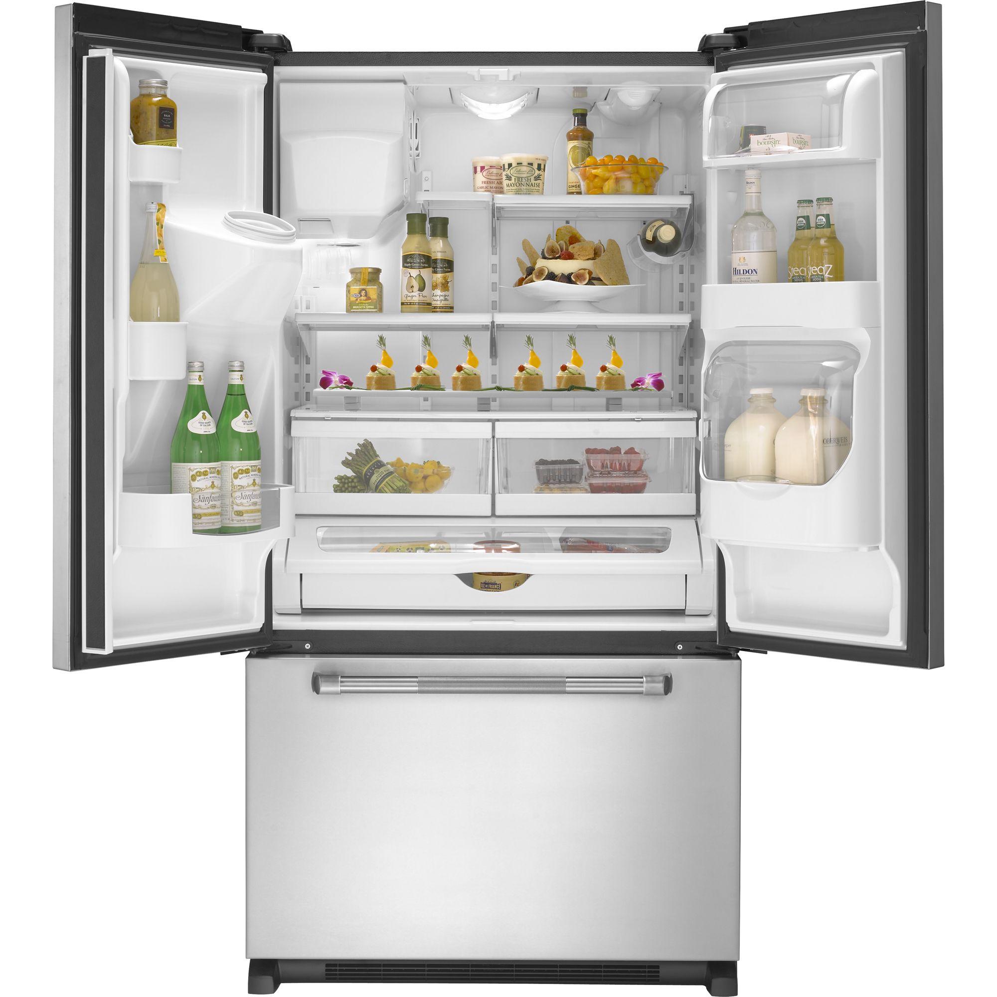 Jenn-Air 19.8 cu. ft. Pro-Style® French-Door Refrigerator w/ External Dispenser