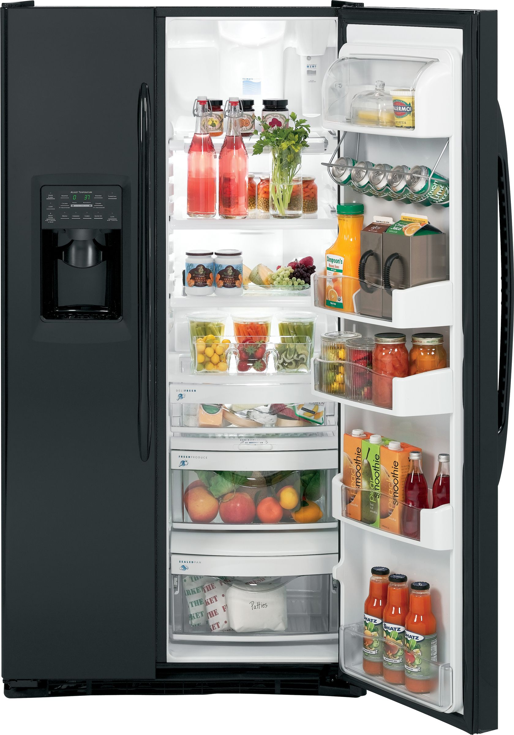 GE Profile Profile™ Series 24.6 cu. ft. Counter-Depth Side-by-Side Refrigerator