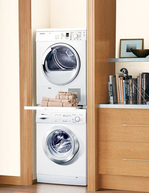Bosch 1.7 cu. ft. Stackable Front-Load Washing Machine