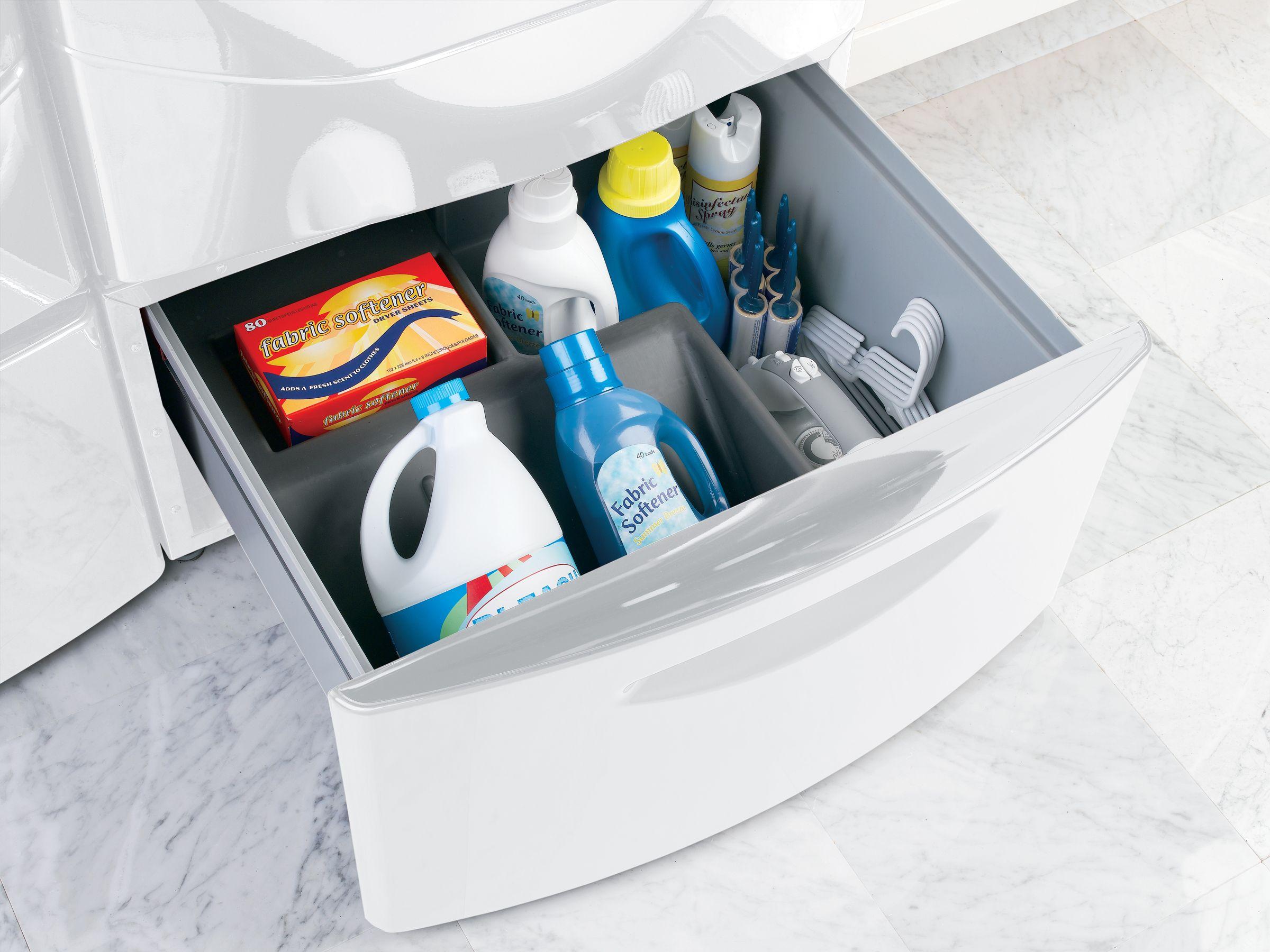 "GE Profile Profile™ Series 15"" Laundry Storage Pedestal"