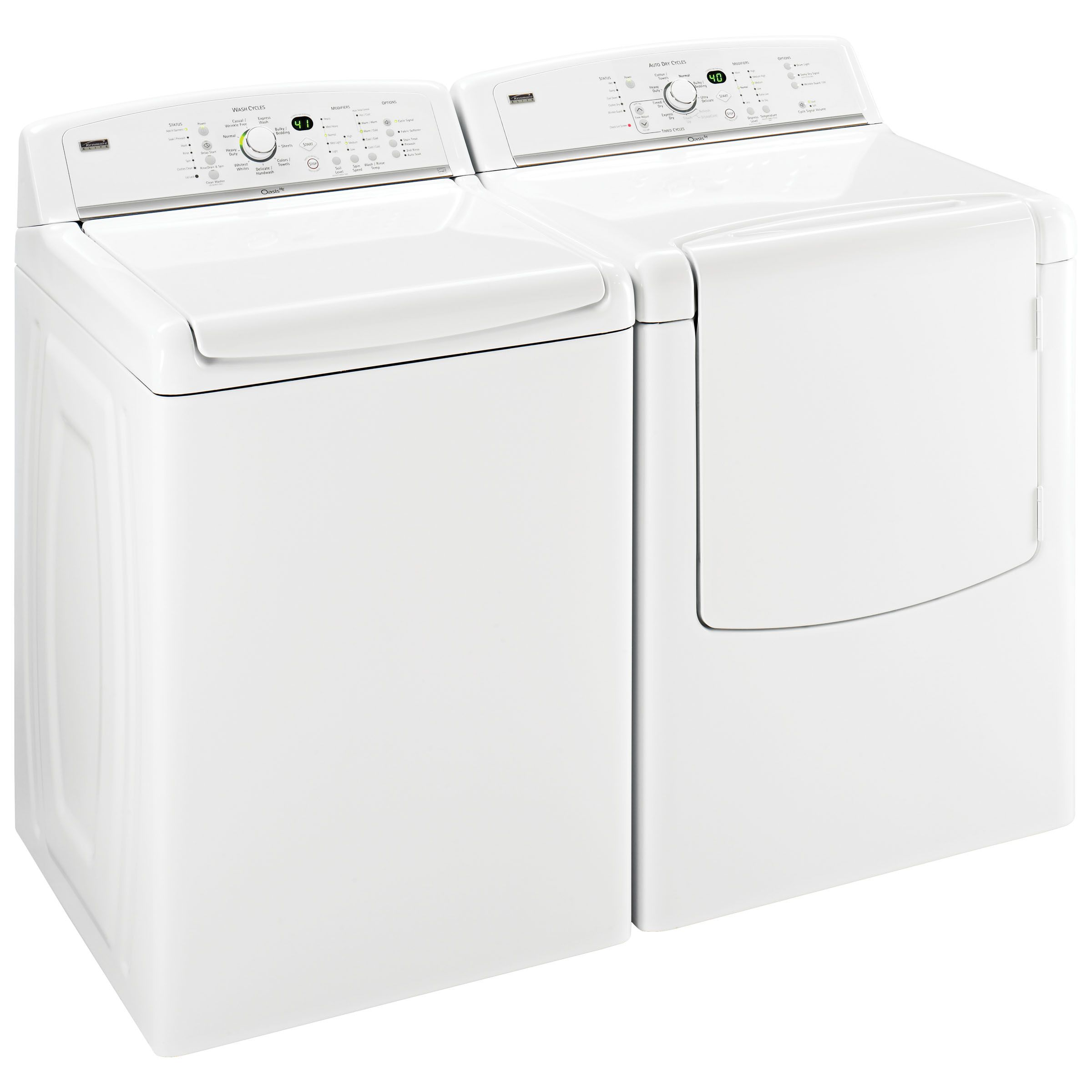 Kenmore Elite Oasis™ ST 7.6 cu. ft. Capacity Gas Dryer